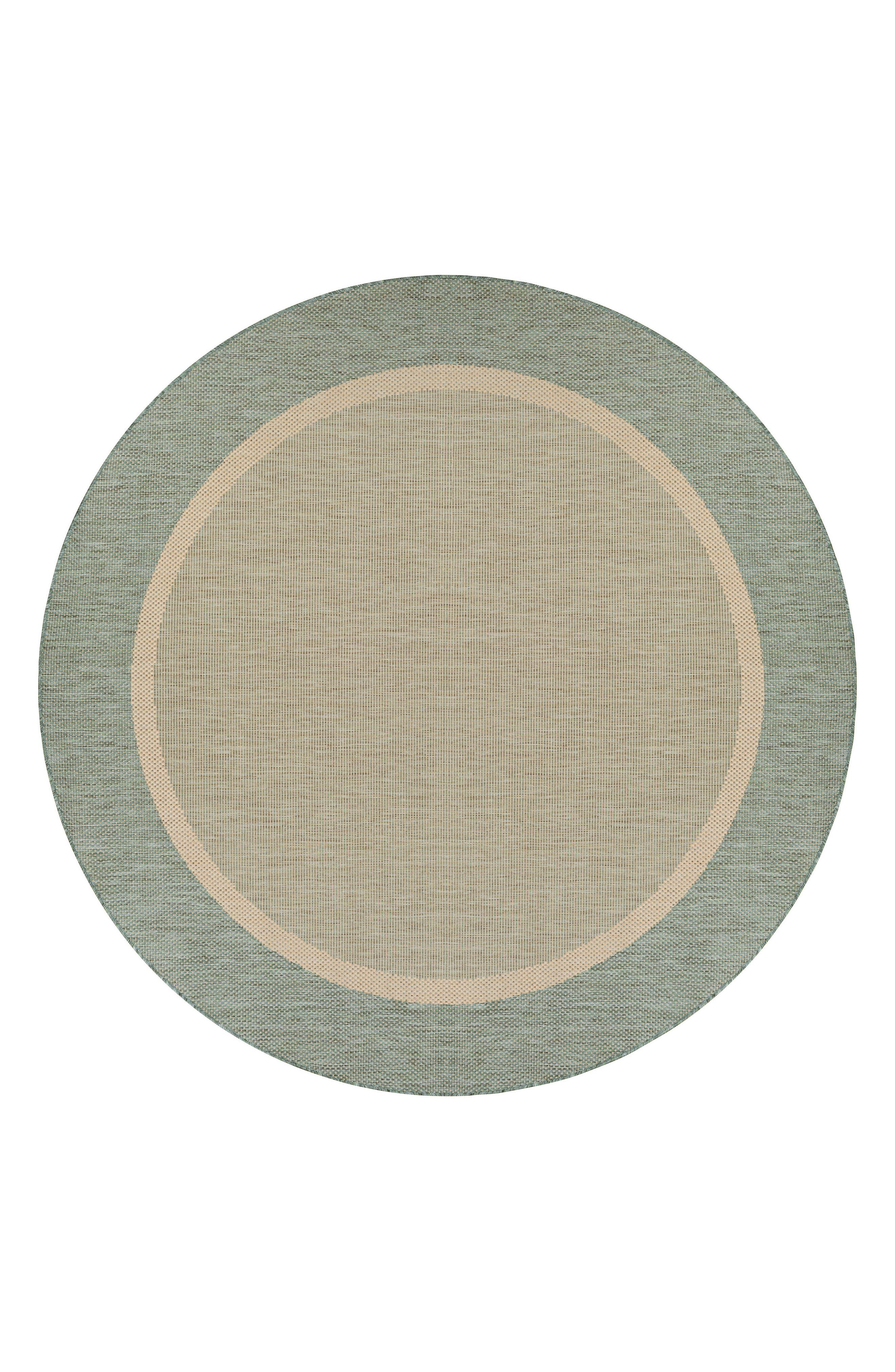 Stria Texture Indoor/Outdoor Rug,                             Alternate thumbnail 2, color,                             NATURAL/ GREEN