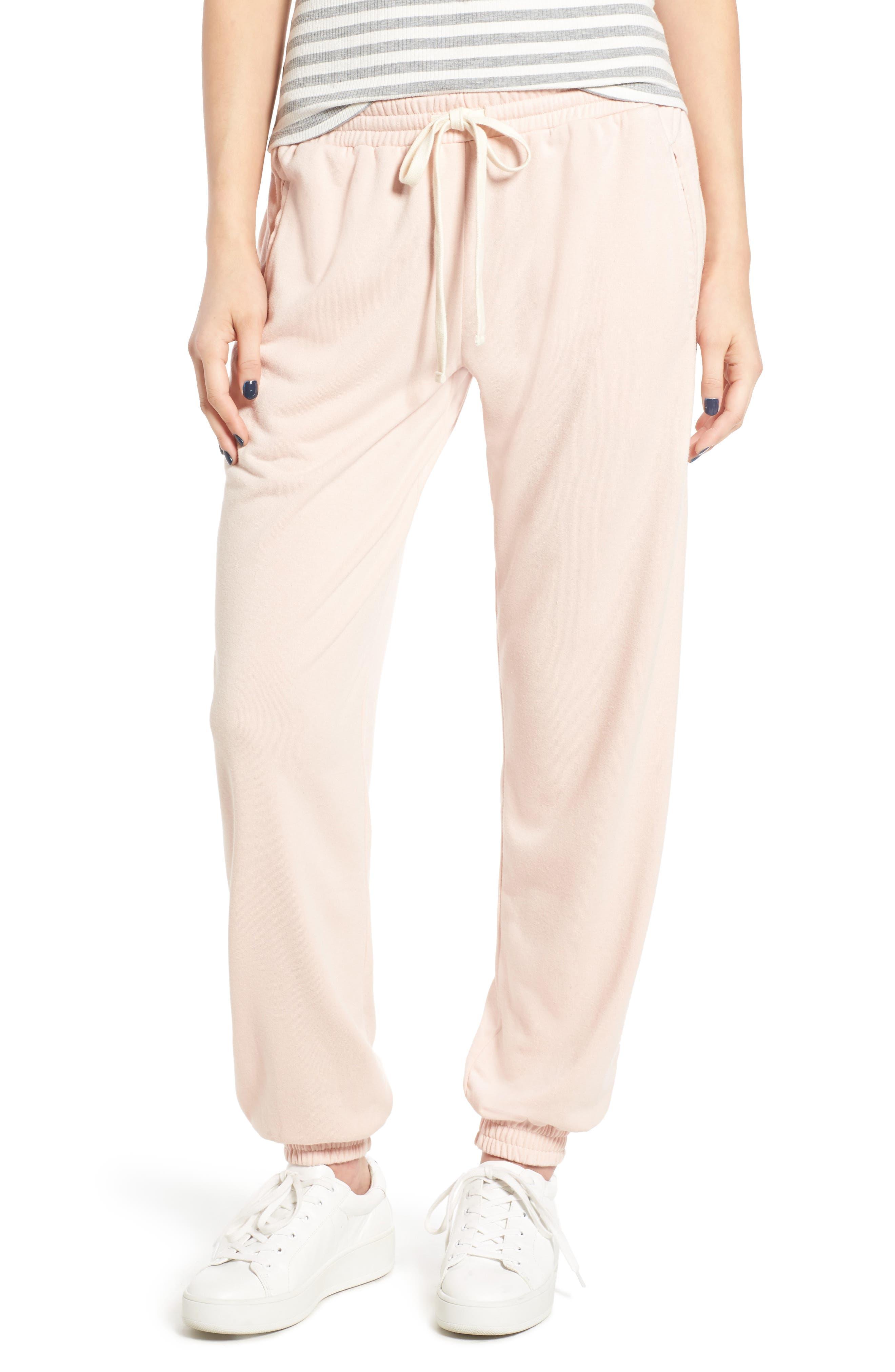 Fleece Sweatpants, Main, color, 660
