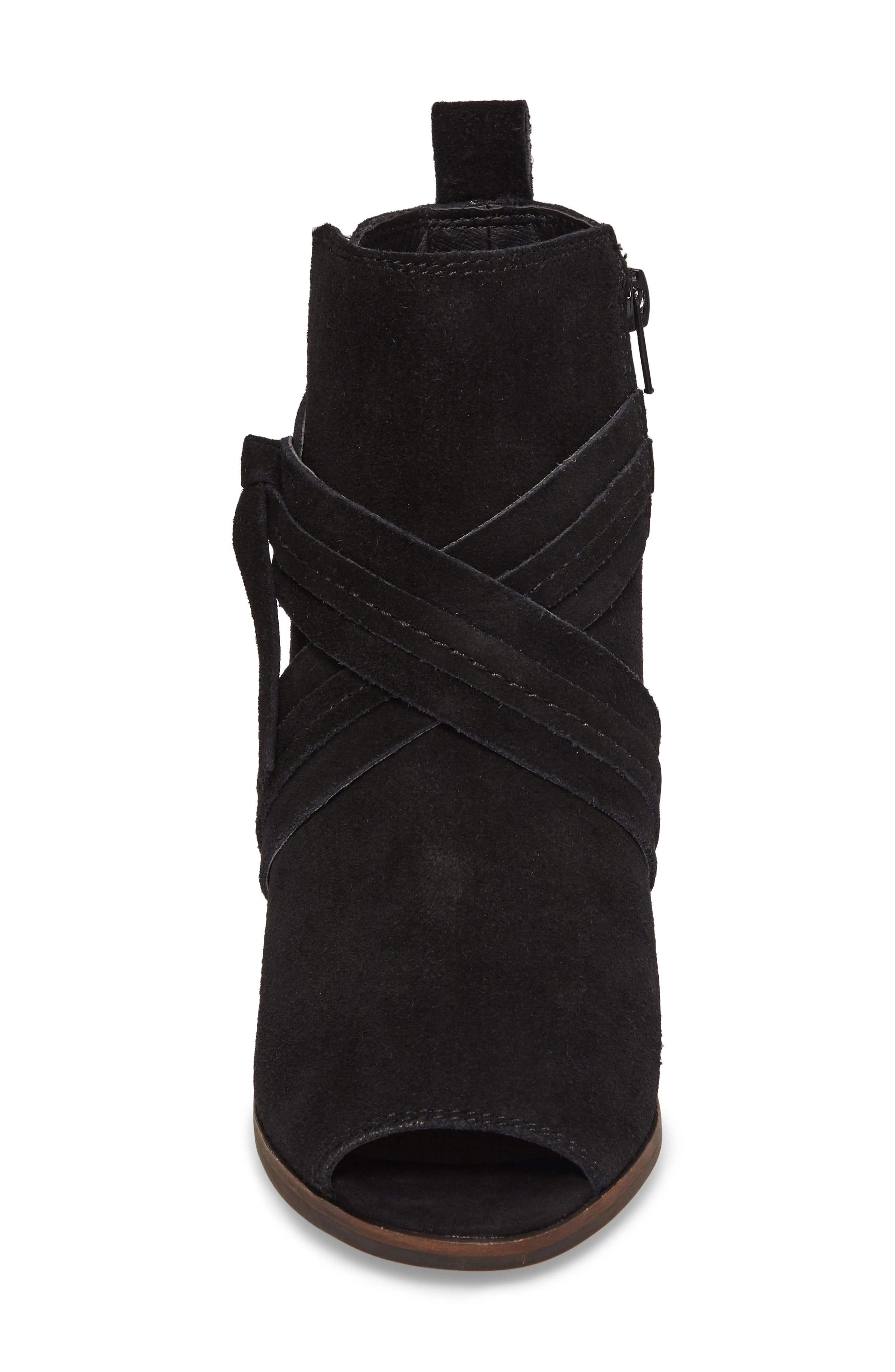 Udom Wedge Bootie,                             Alternate thumbnail 4, color,                             001