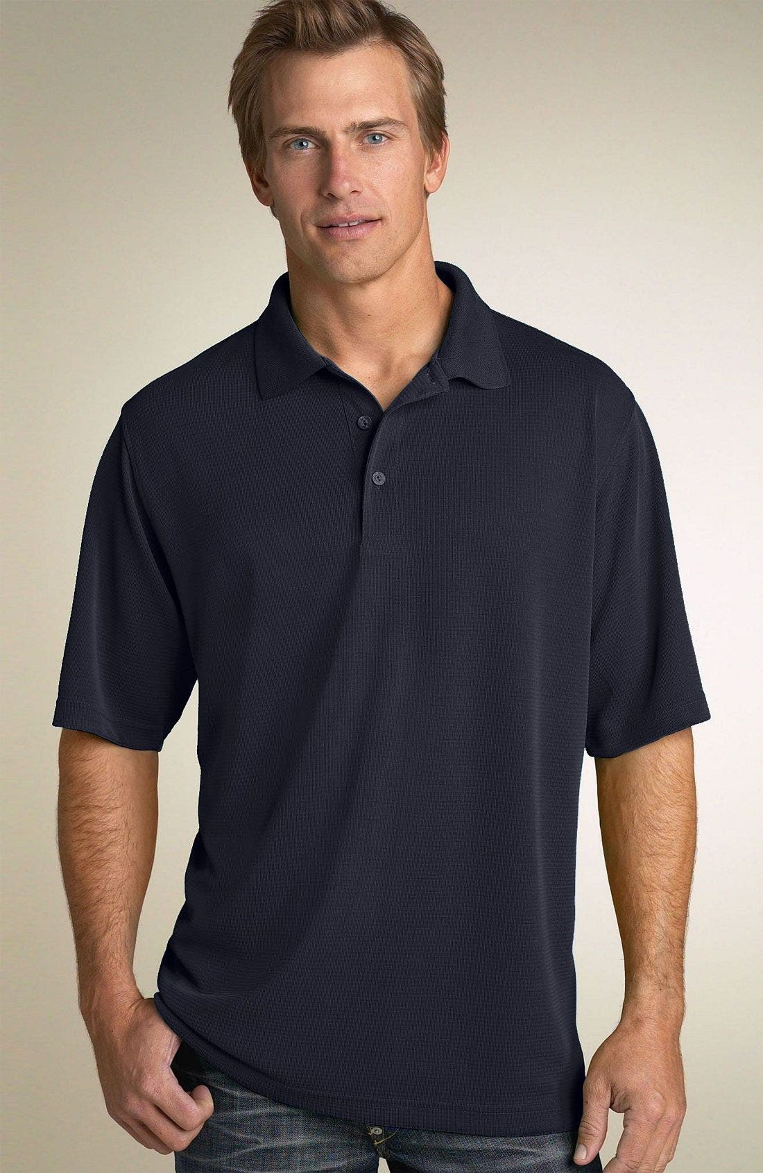 Short Sleeve Polynosic Polo,                         Main,                         color, 301