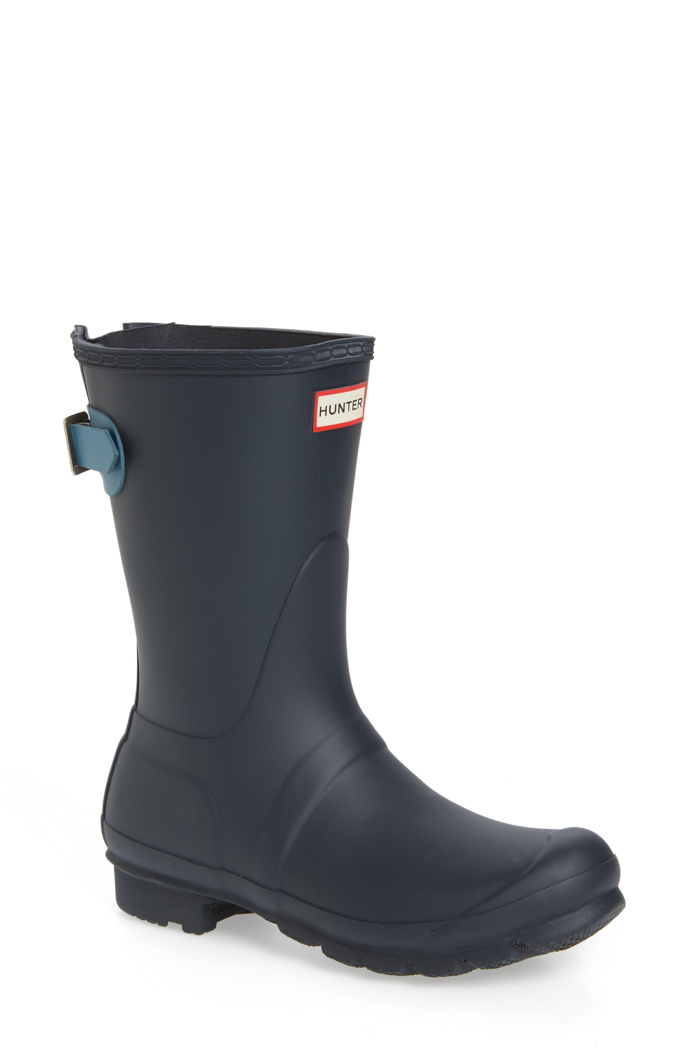 Original Short Back Adjustable Rain Boot,                             Main thumbnail 8, color,