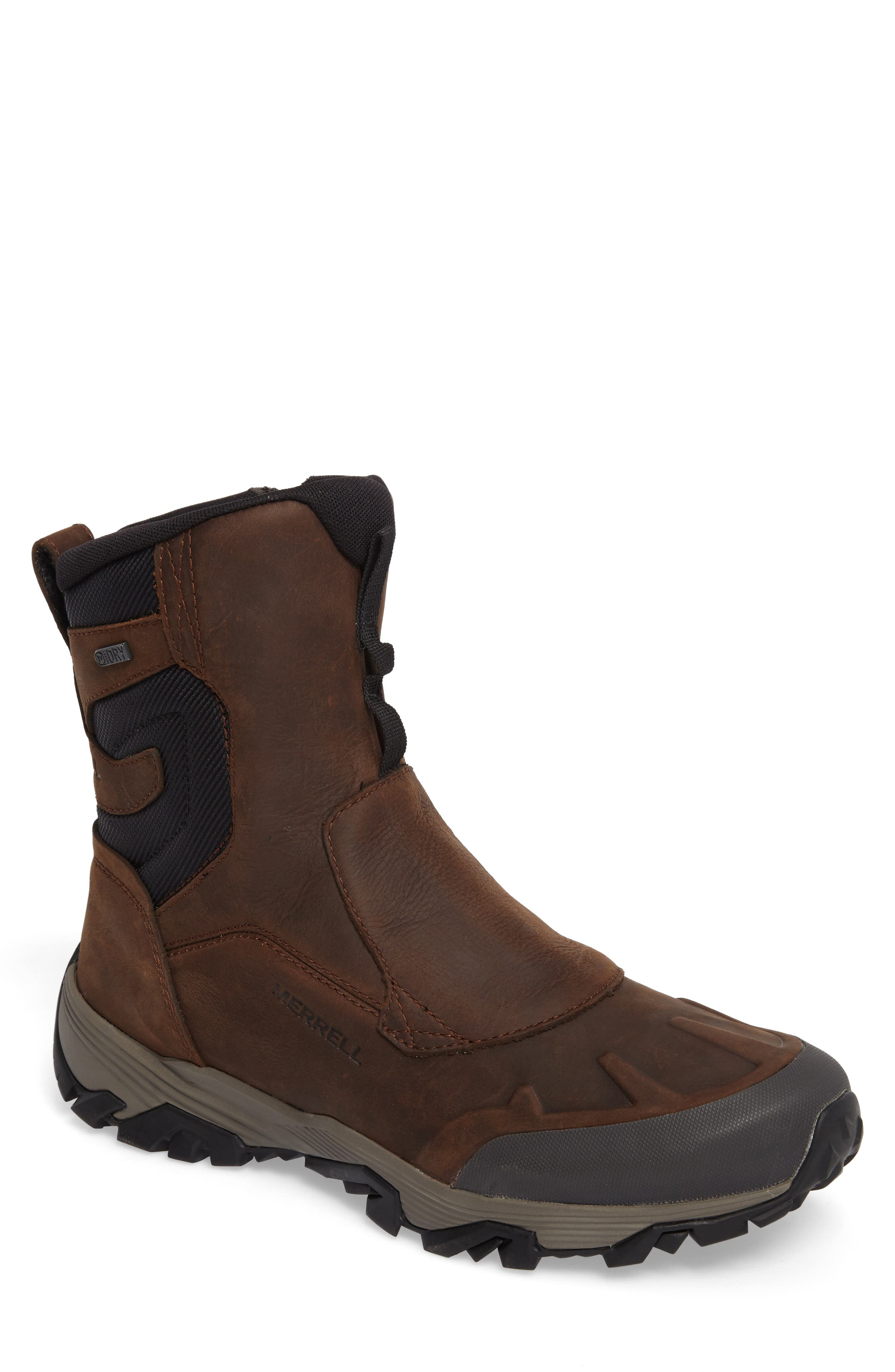 Cold Pack Ice Boot,                         Main,                         color, CLAY NUBUCK LEATHER