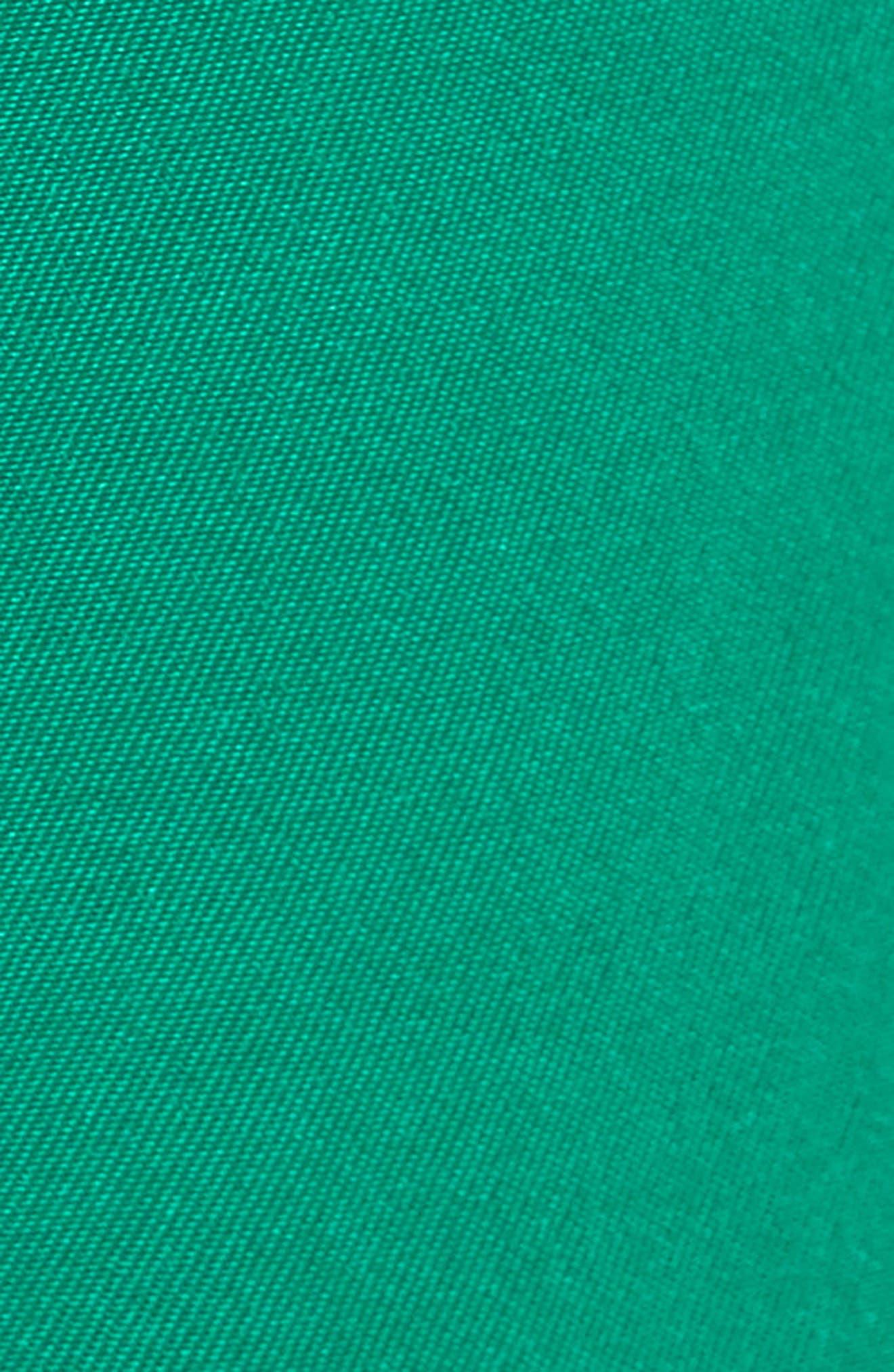 Velvet Stripe Satin Track Pants,                             Alternate thumbnail 5, color,                             310