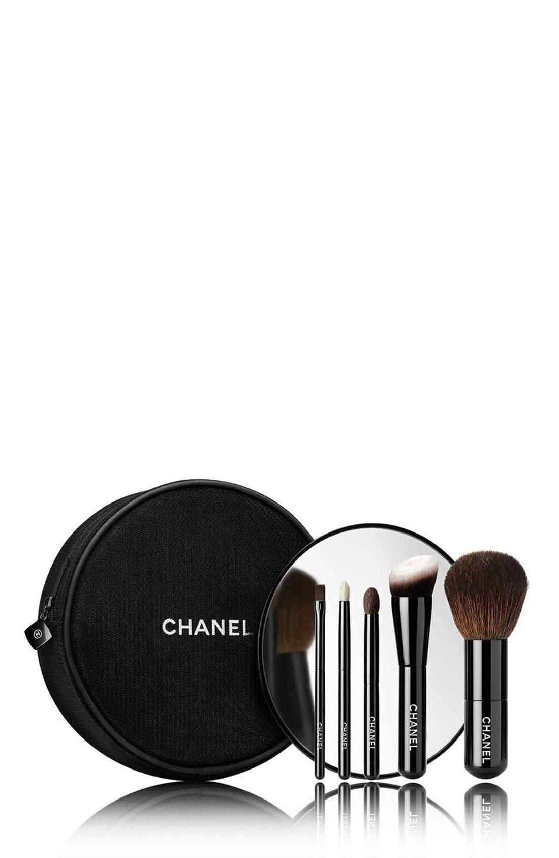 LES MINIS DE CHANEL Mini Brush Set,                         Main,                         color,