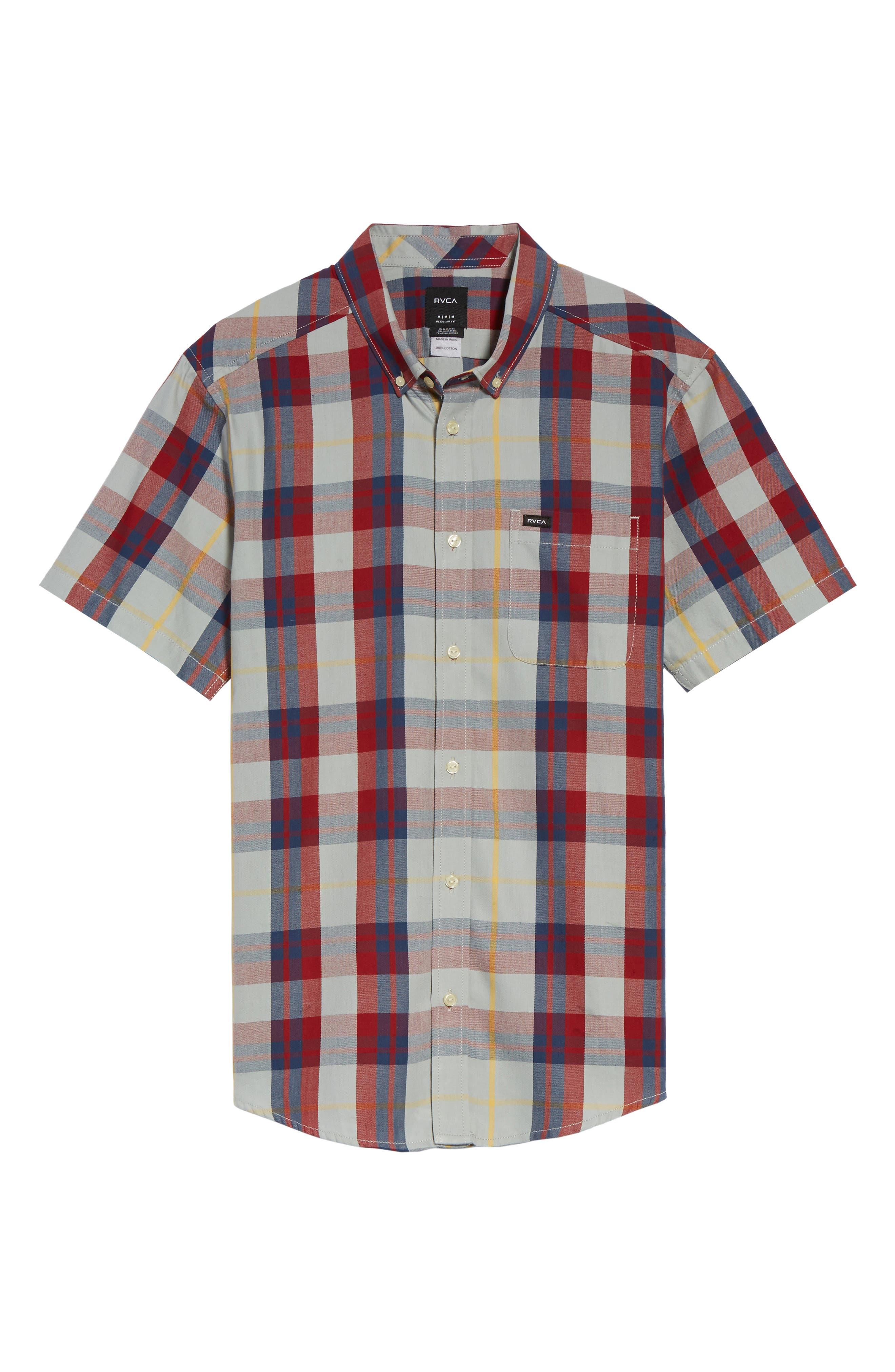 Waas 2 Plaid Woven Shirt,                             Alternate thumbnail 11, color,