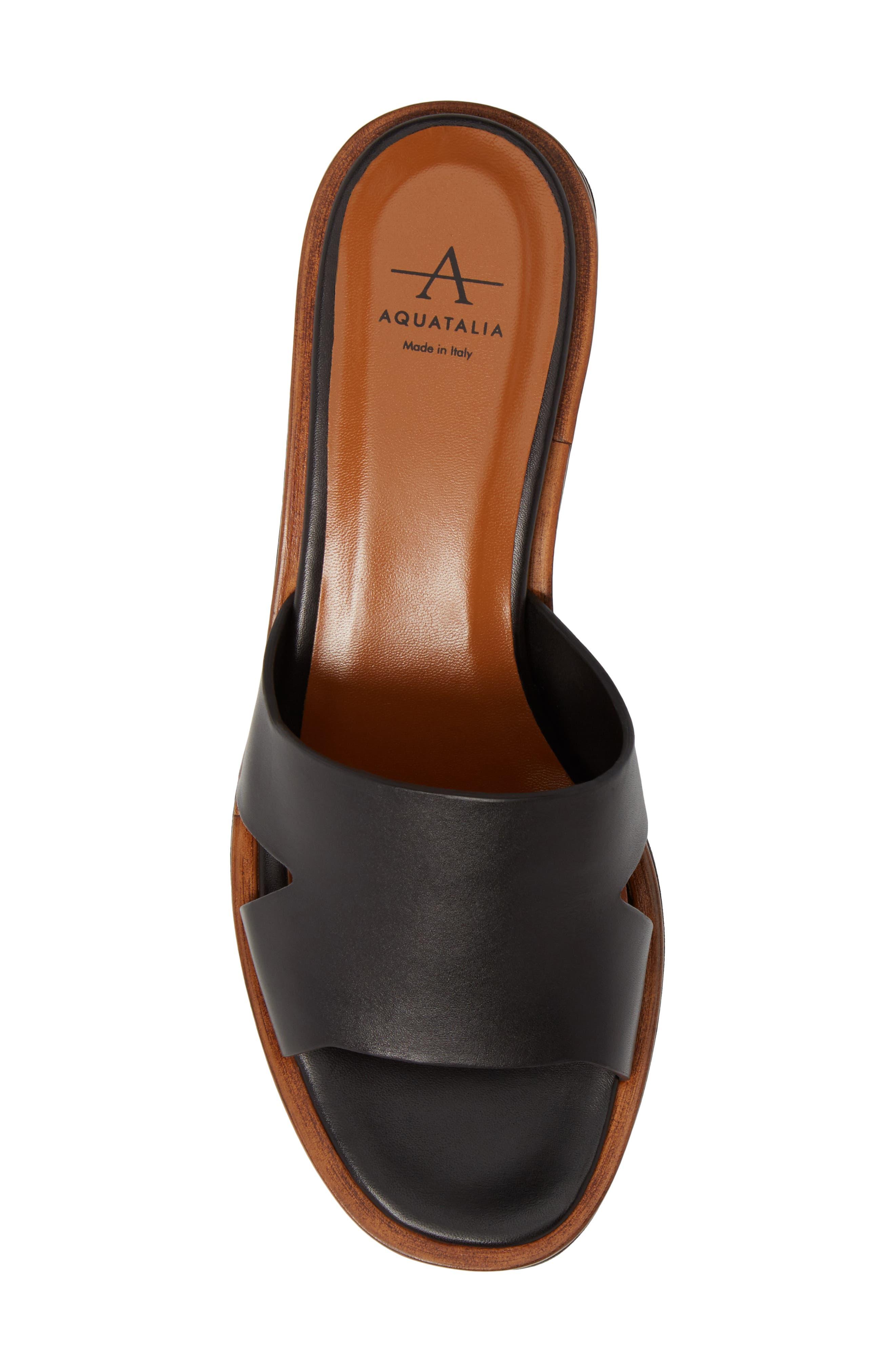 Tayla Platform Wedge Sandal,                             Alternate thumbnail 5, color,                             001