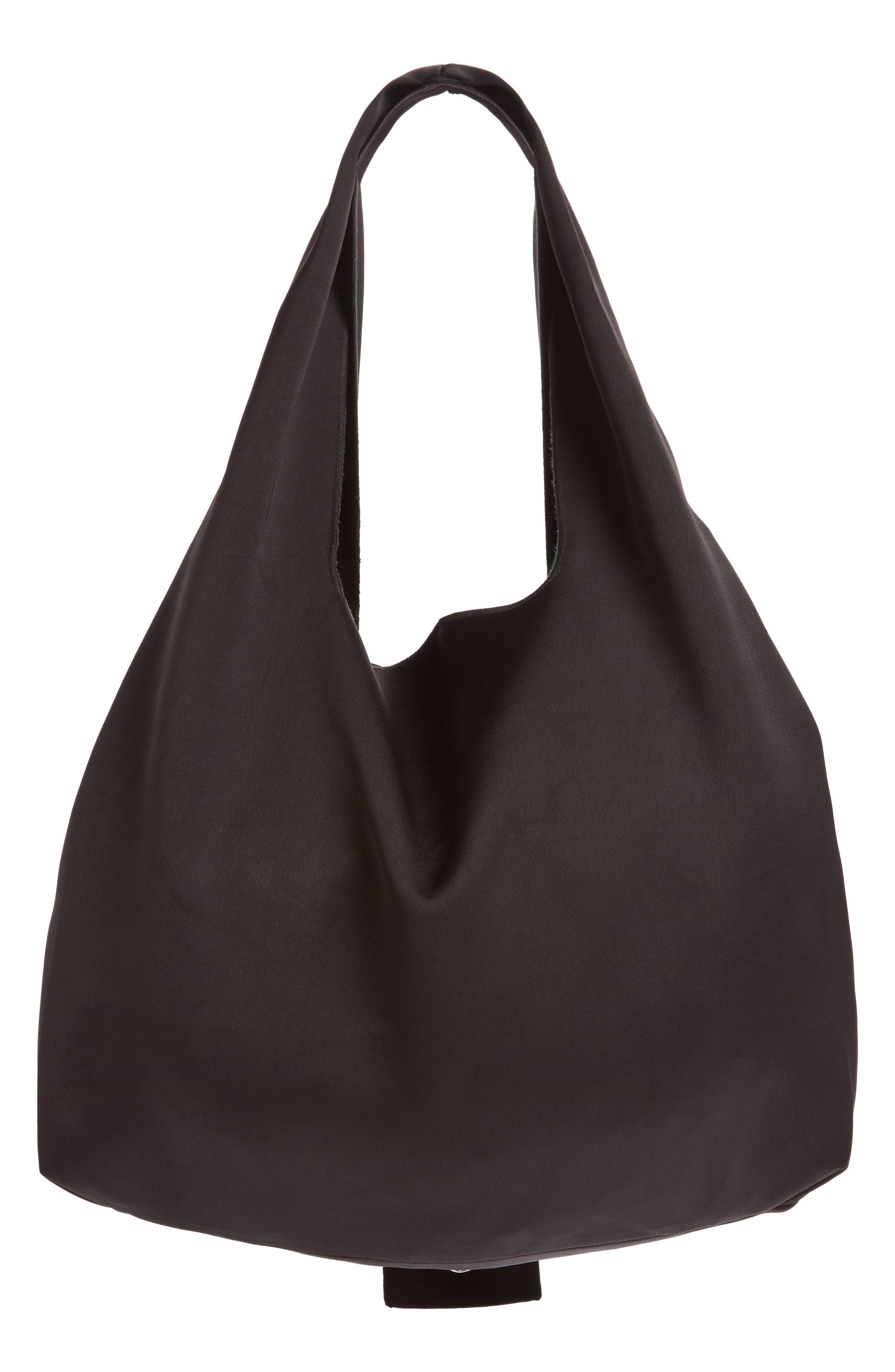 Oversize Tie Front Tote,                             Alternate thumbnail 3, color,                             001