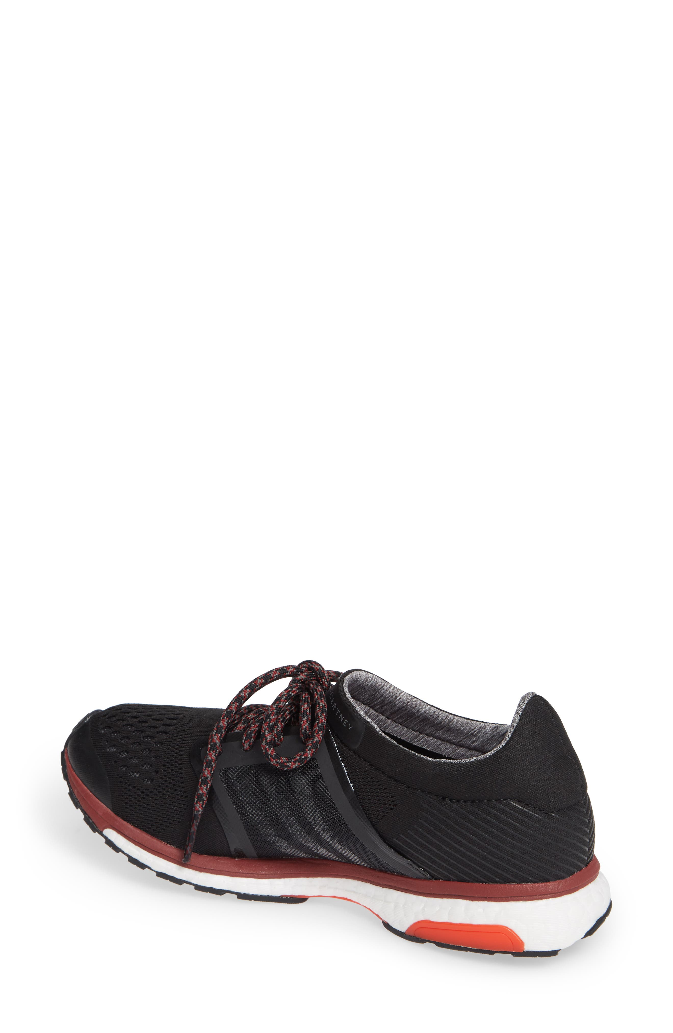 by Stella McCartney Adizero Adios Running Shoe,                             Alternate thumbnail 2, color,                             001