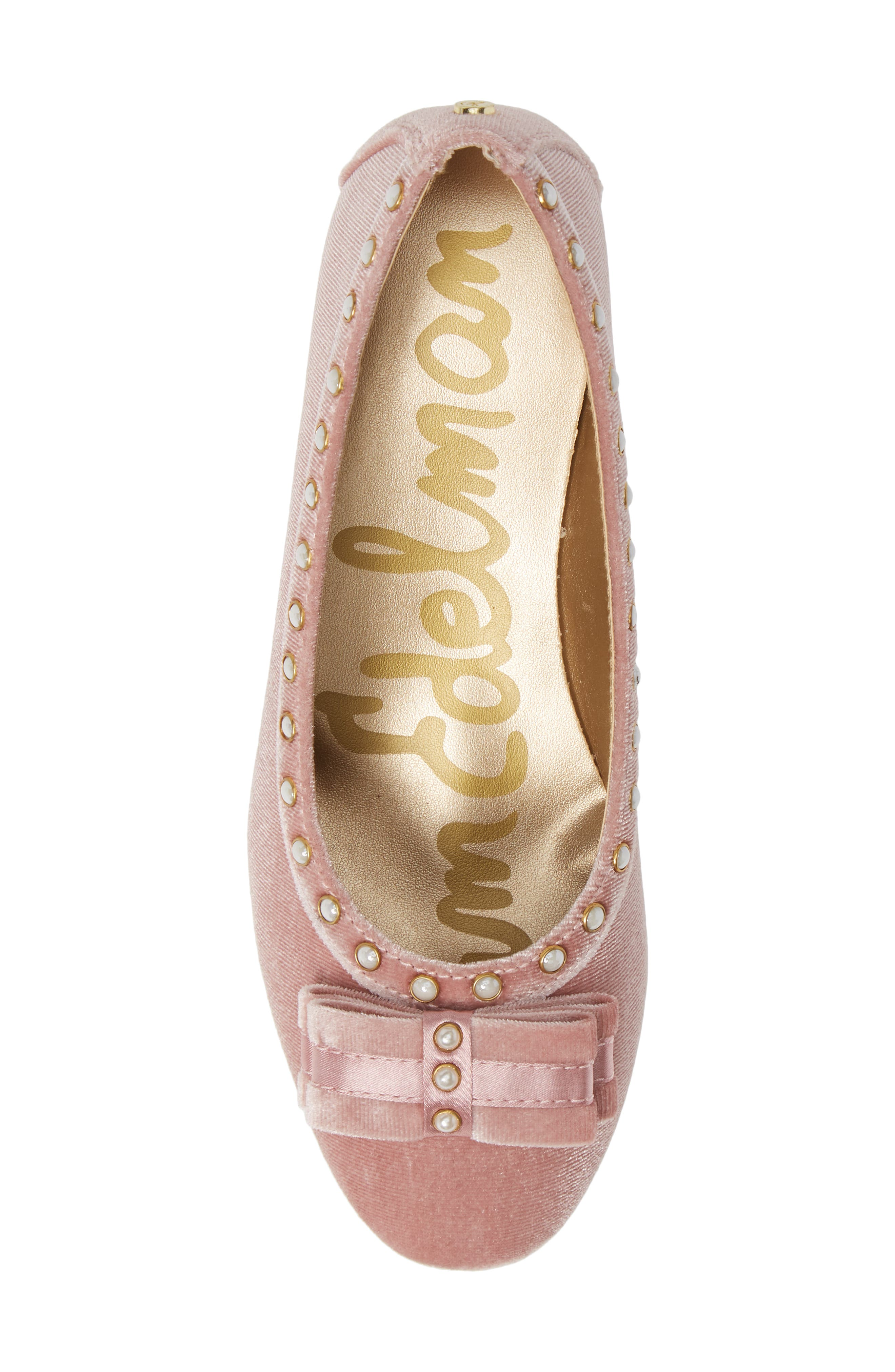 Evelyn Kammie Pump,                             Alternate thumbnail 5, color,                             MELLOW ROSE