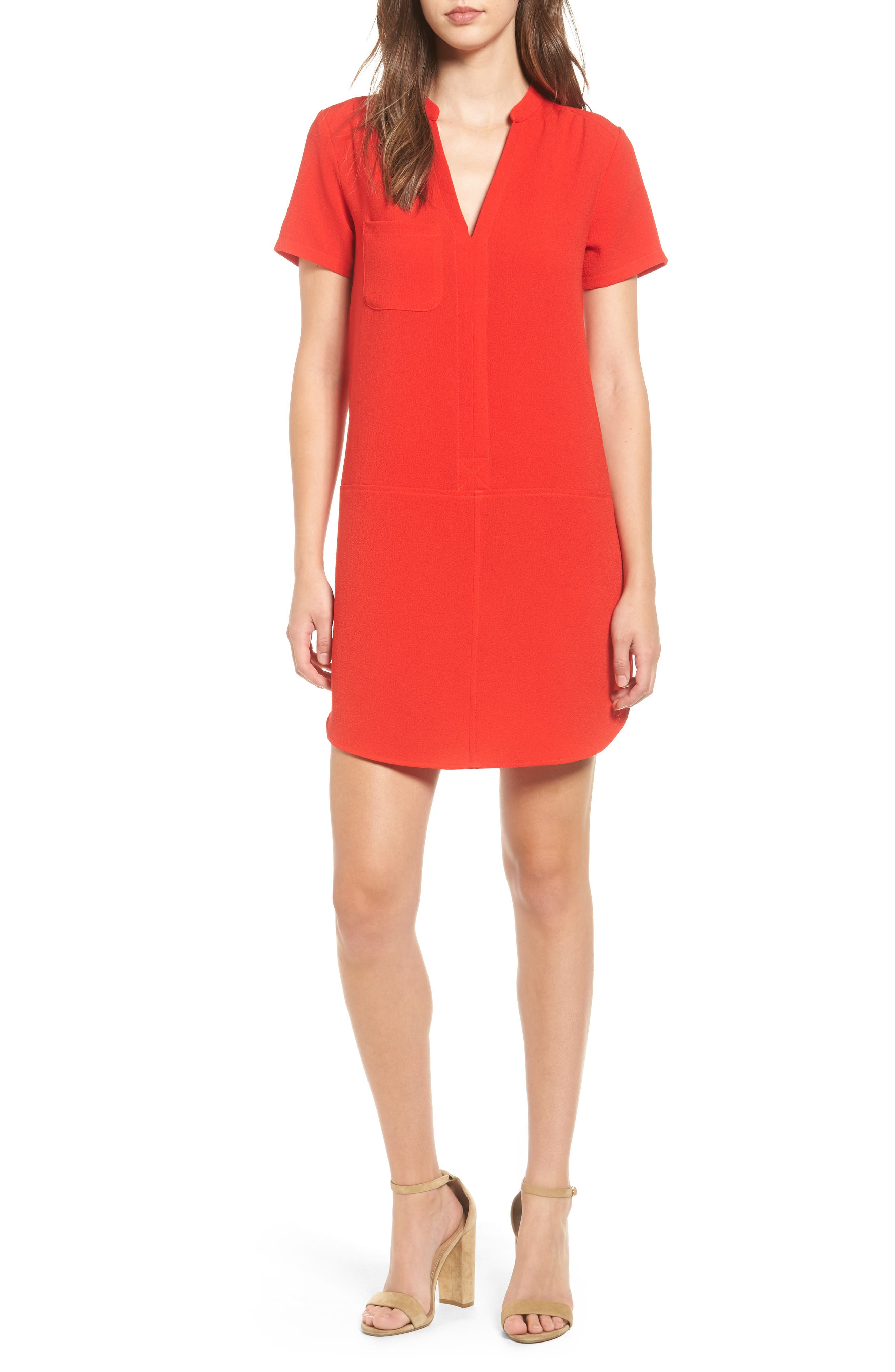 Hailey Crepe Dress,                             Main thumbnail 15, color,