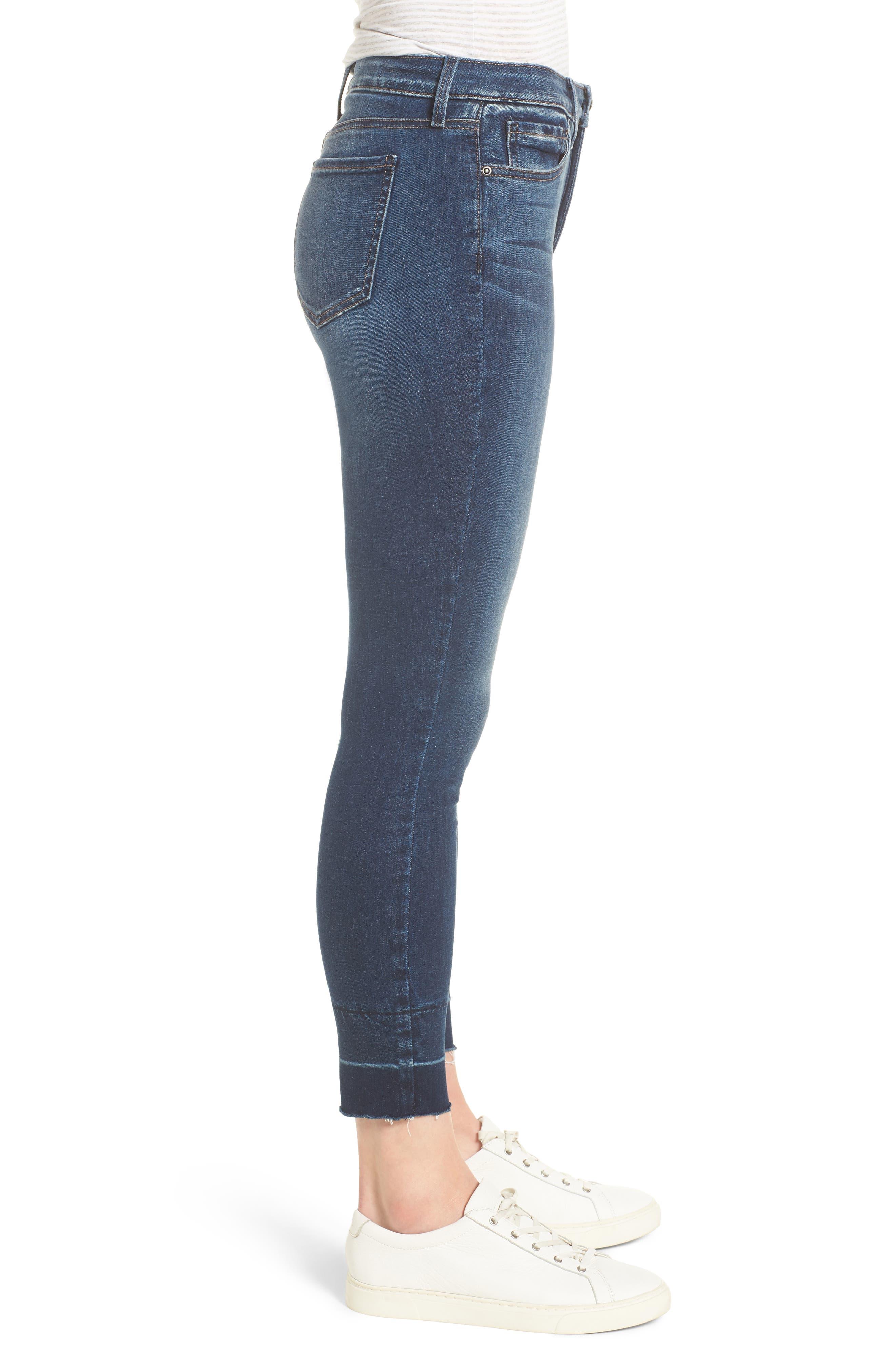 NYDJ,                             Ami Wide Release Hem Super Skinny Jeans,                             Alternate thumbnail 3, color,                             403