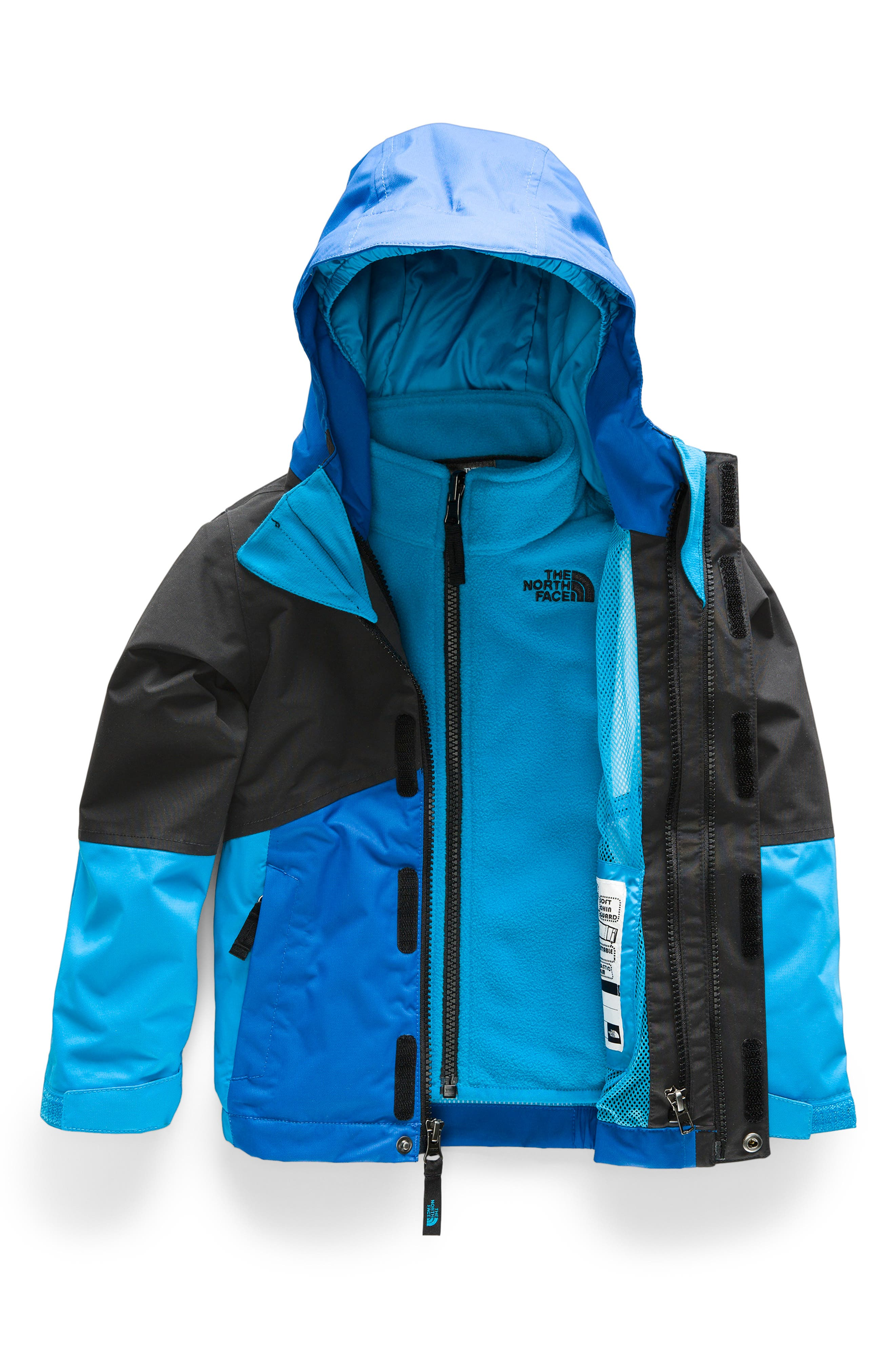 Toddler Boys The North Face Boundary Triclimate 3In1 Jacket Size 2T  Black
