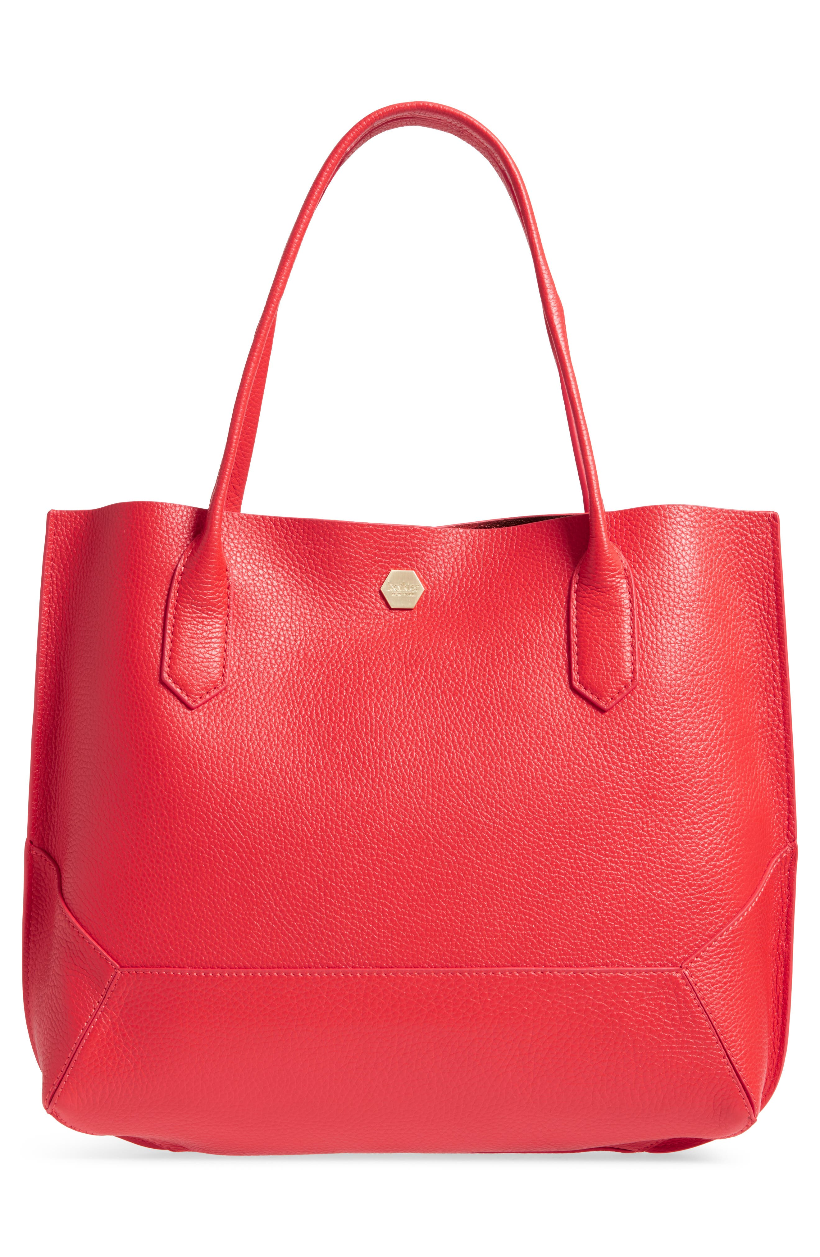 Waverly Leather Tote,                             Alternate thumbnail 25, color,