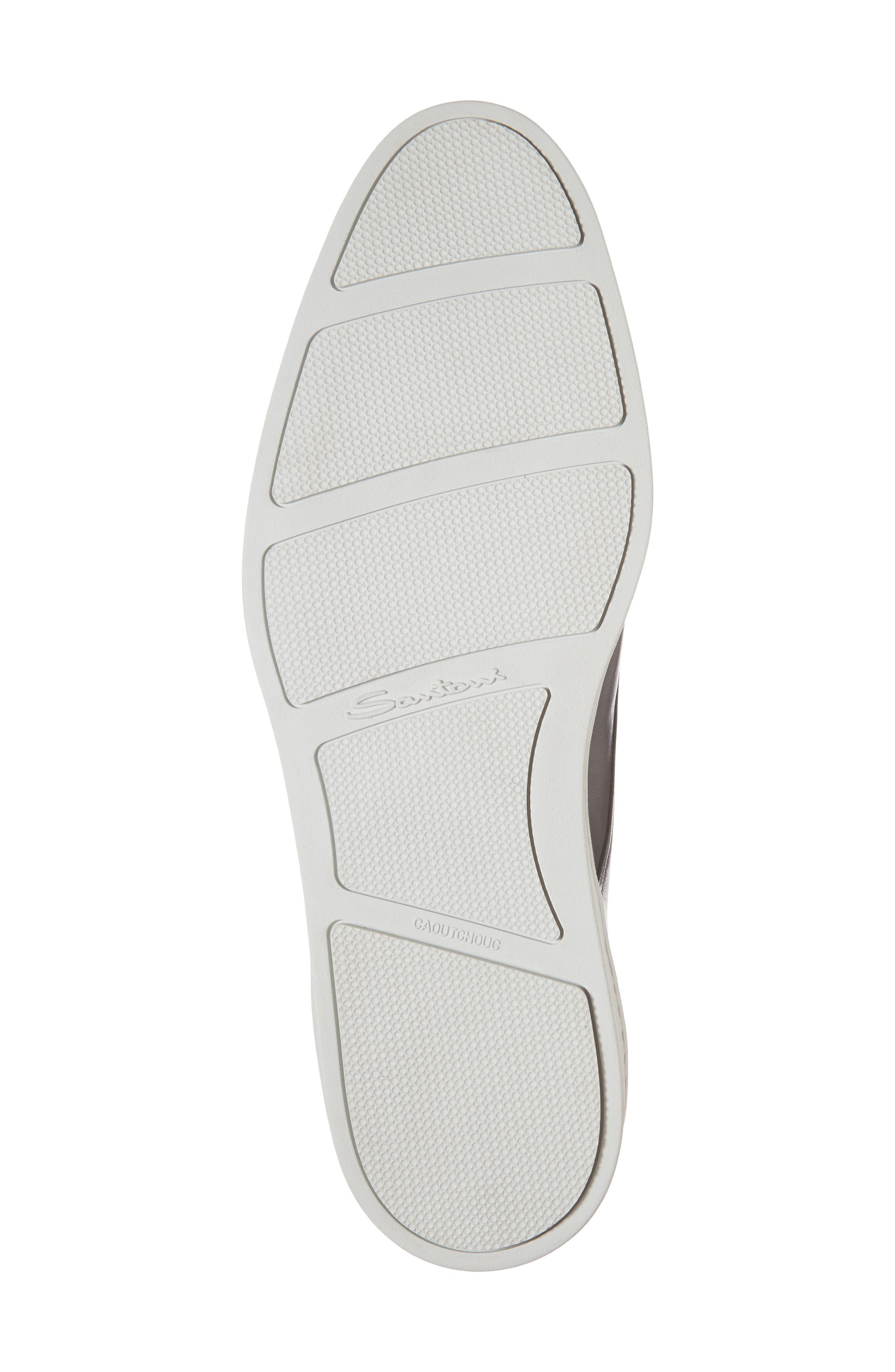 Freemont Double Monk Strap Shoe,                             Alternate thumbnail 6, color,                             GREY
