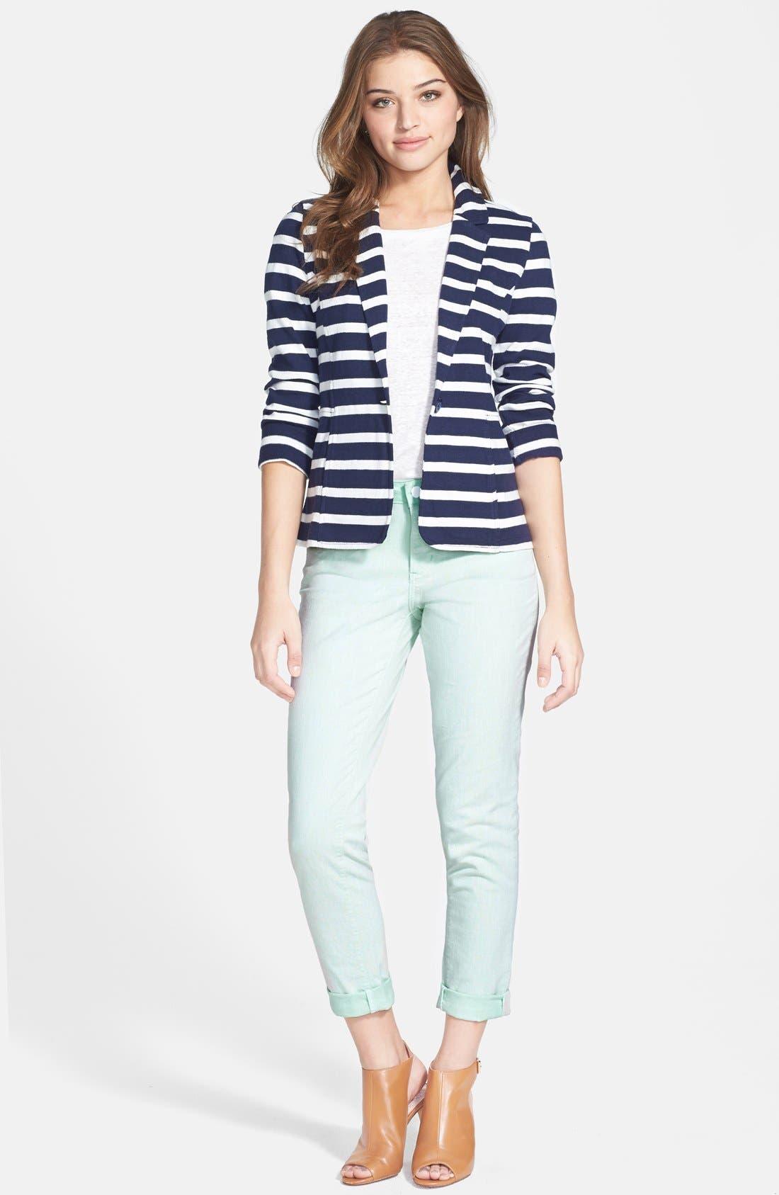 Cotton Knit Jacket,                             Alternate thumbnail 33, color,
