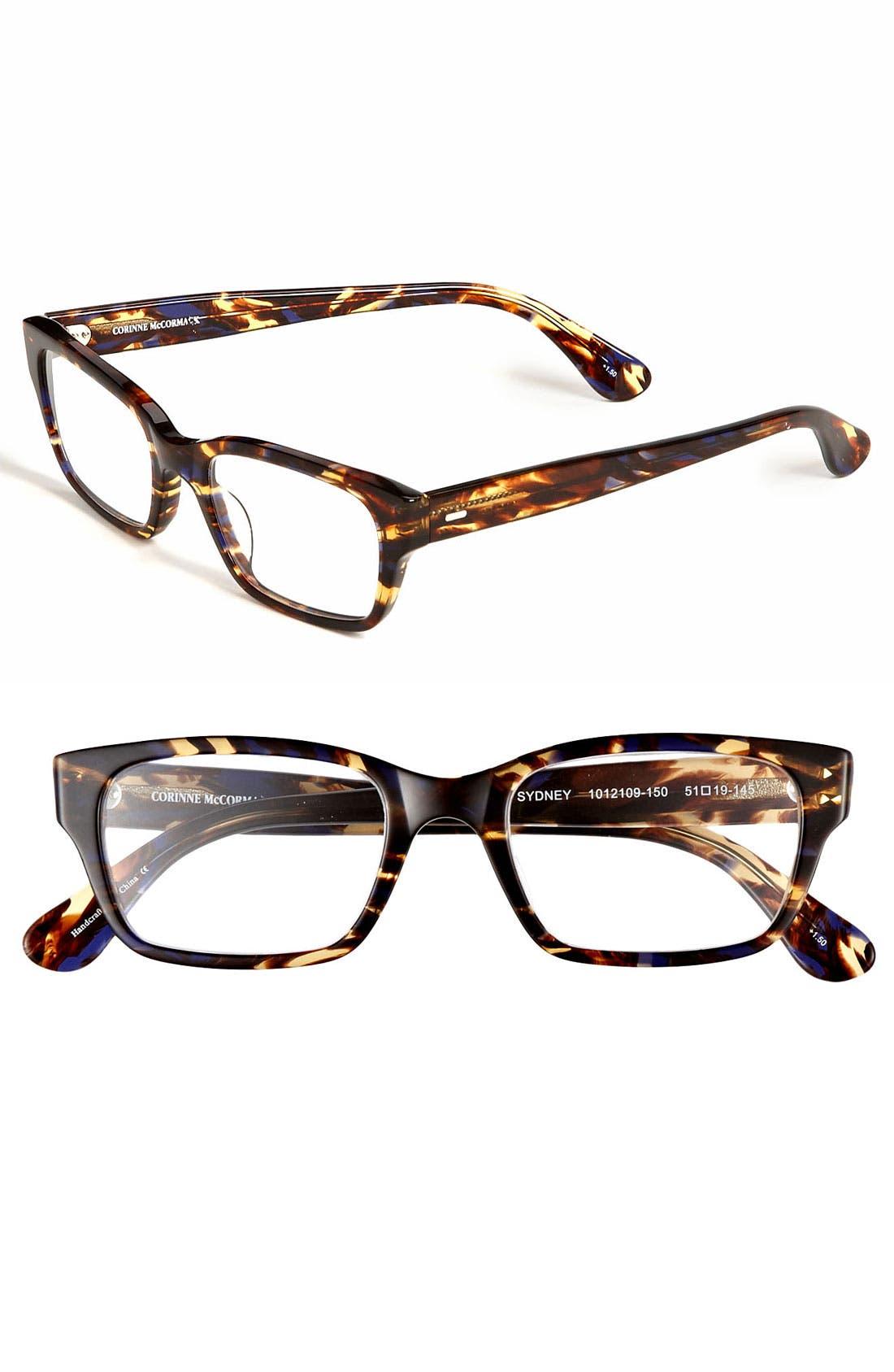 'Sydney' 51mm Reading Glasses,                             Main thumbnail 1, color,                             200