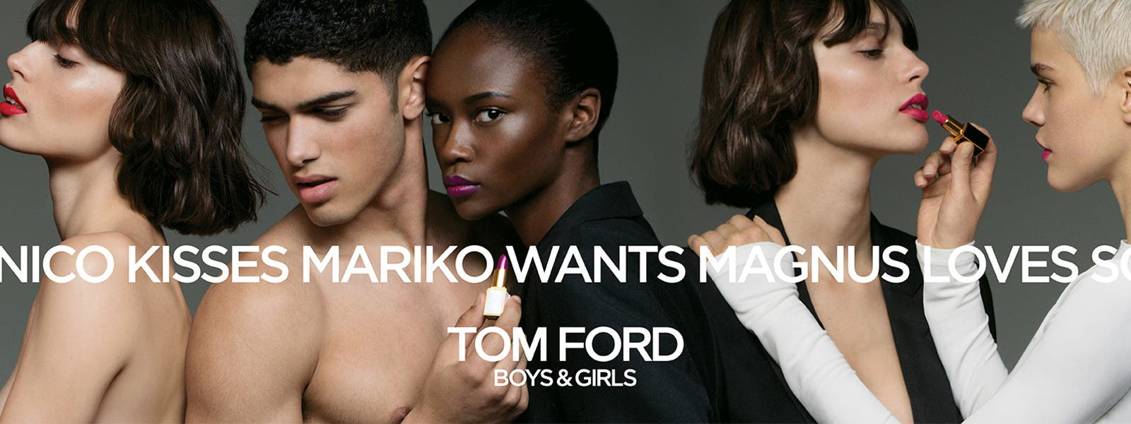 Boys & Girls - new from Tom Ford.