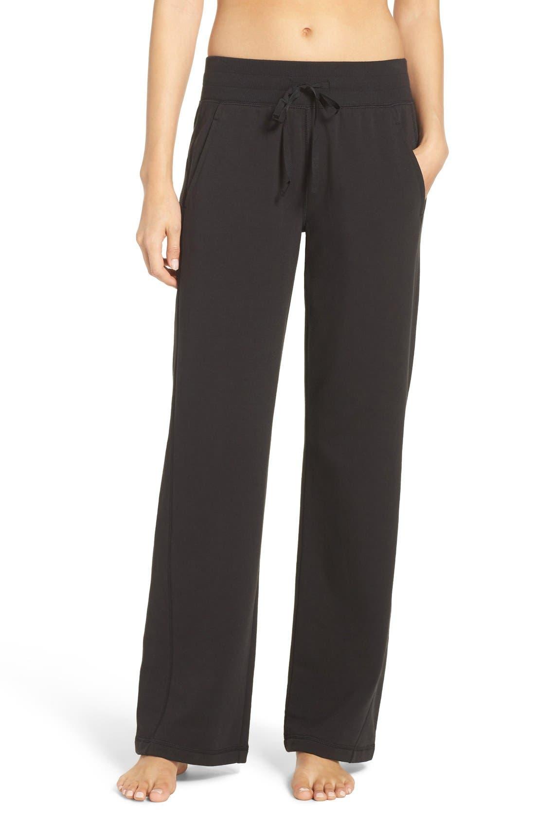 Luxe Lounge Sweatpants, Main, color, 001