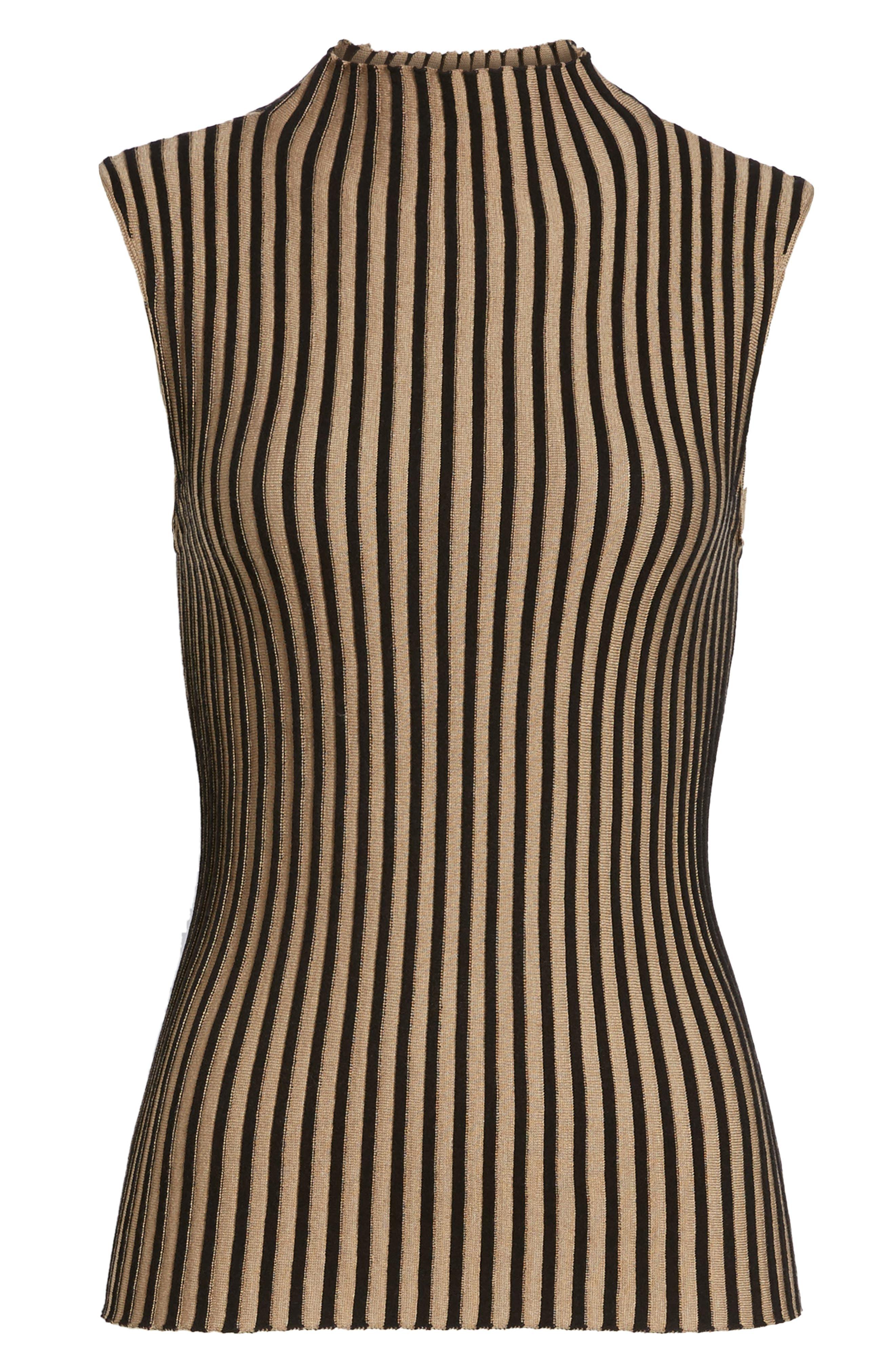 Stripe Sweater,                             Alternate thumbnail 6, color,                             010