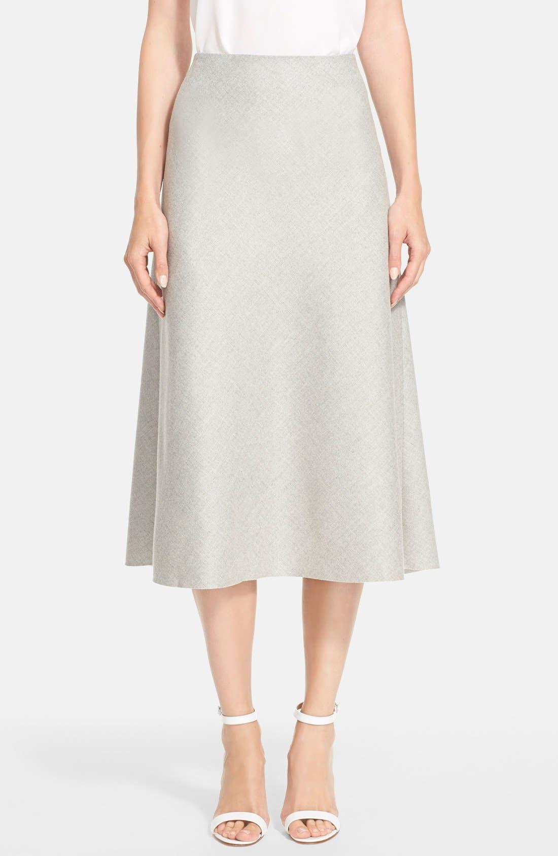 'Jahneem' Flannel Skirt,                             Main thumbnail 1, color,                             050