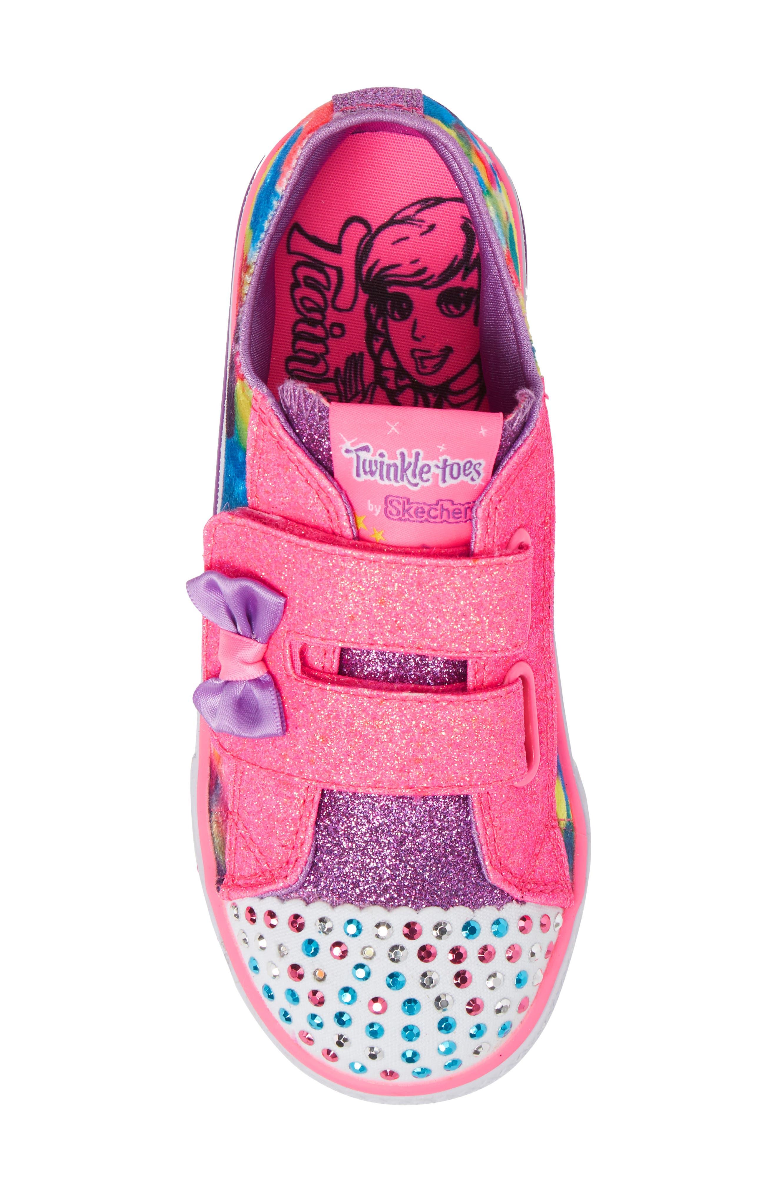 Shuffles - Itsy Bitsy Light-Up Sneaker,                             Alternate thumbnail 23, color,