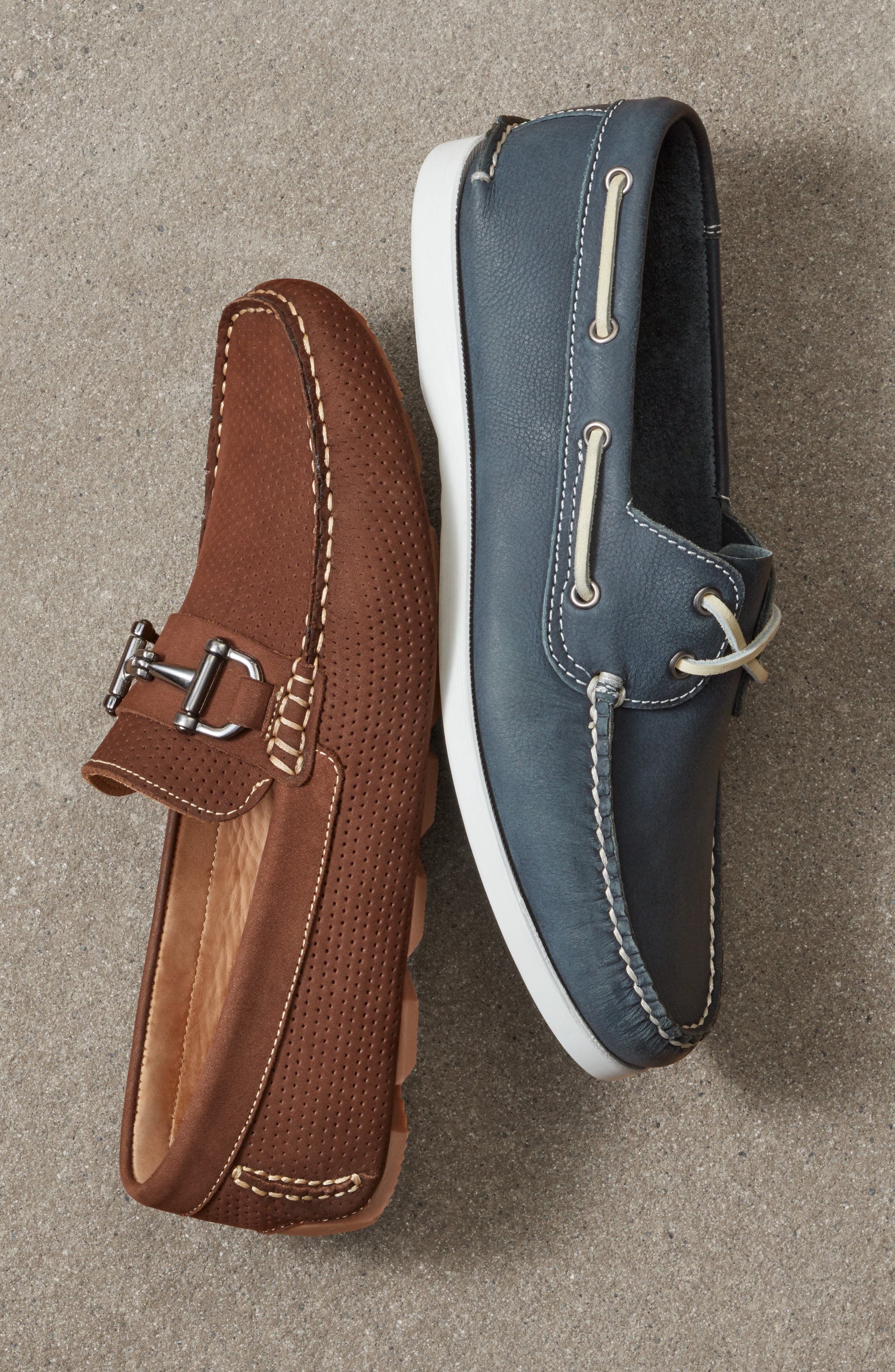 Pacific Boat Shoe,                             Alternate thumbnail 8, color,                             GREY NUBUCK