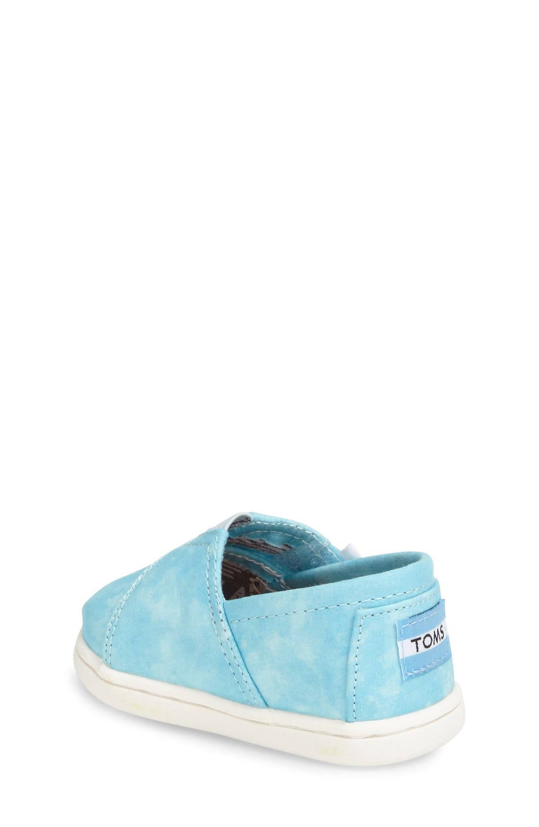 'Classic - Tiny' Print Slip-On,                             Alternate thumbnail 3, color,                             AQUA
