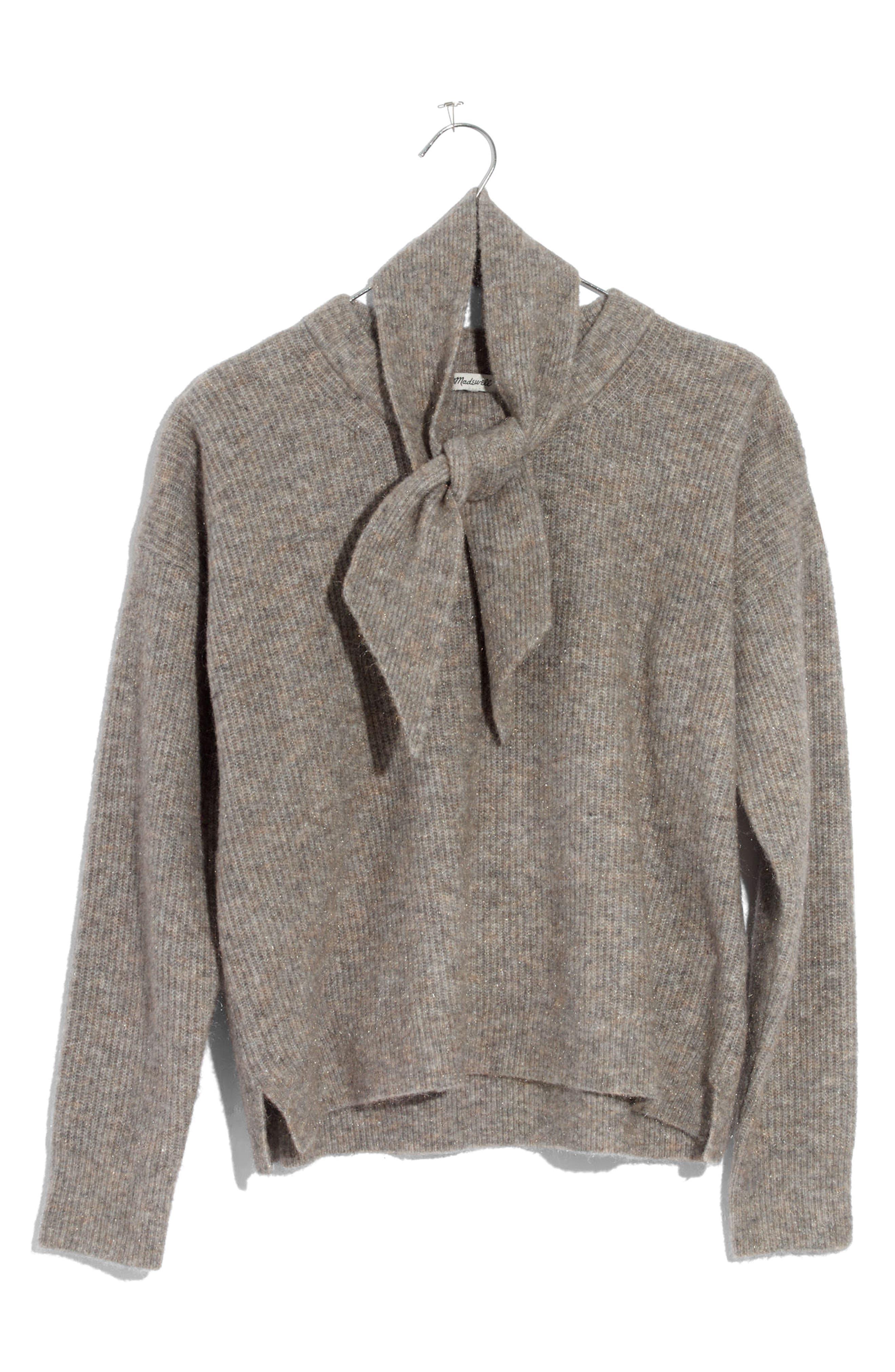 Sweater & Scarf Set,                             Alternate thumbnail 3, color,                             280