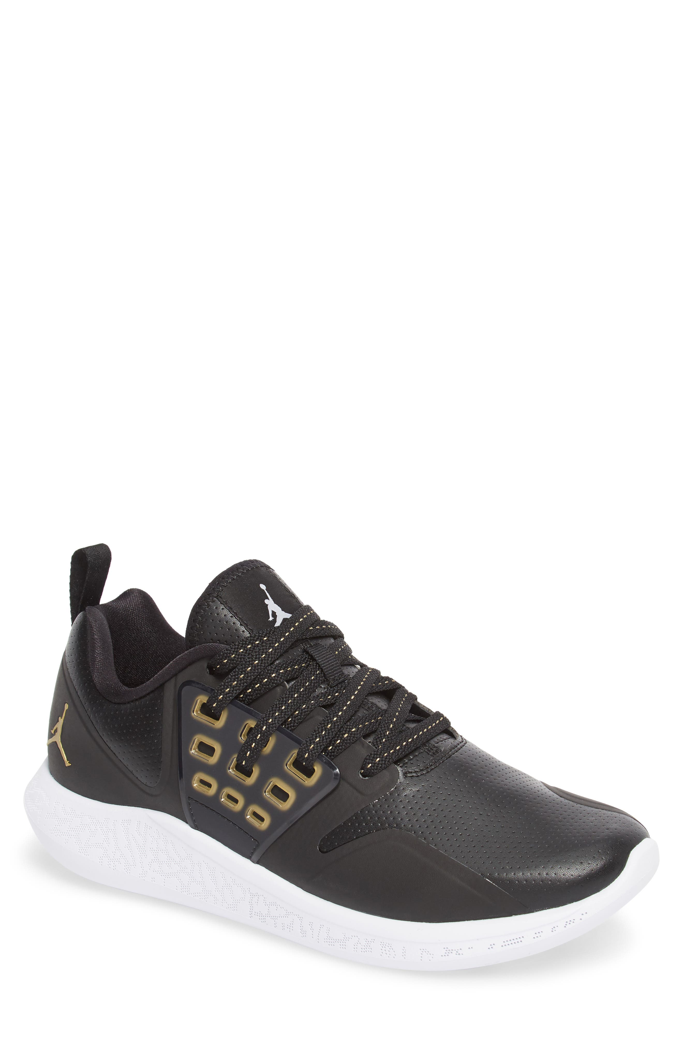 Jordan Grind Running Shoe,                             Main thumbnail 1, color,                             001