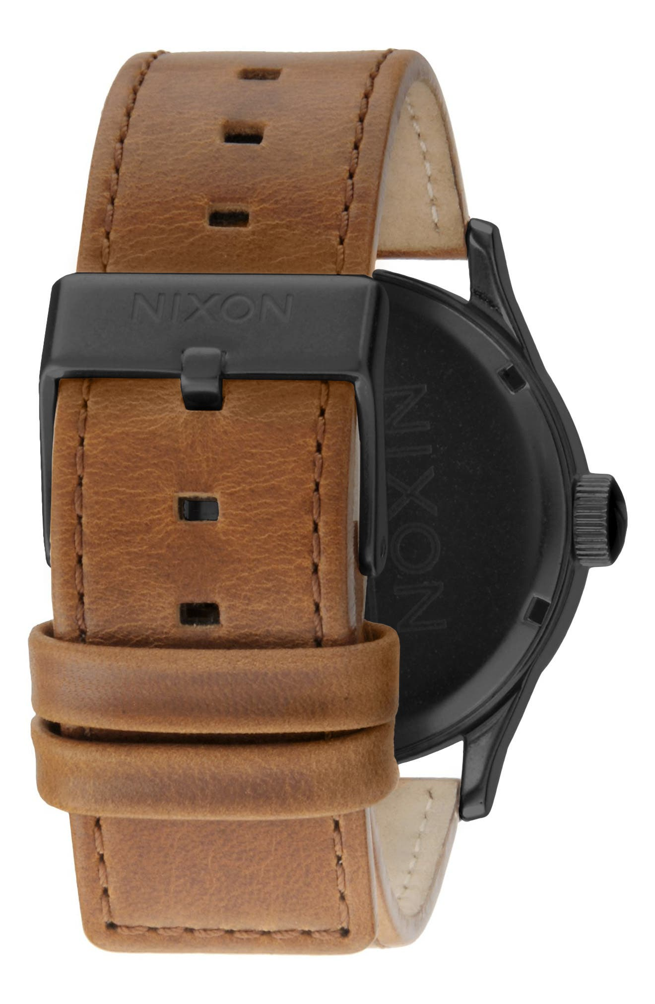 The Sentry Leather Strap Watch, 42mm,                             Alternate thumbnail 67, color,