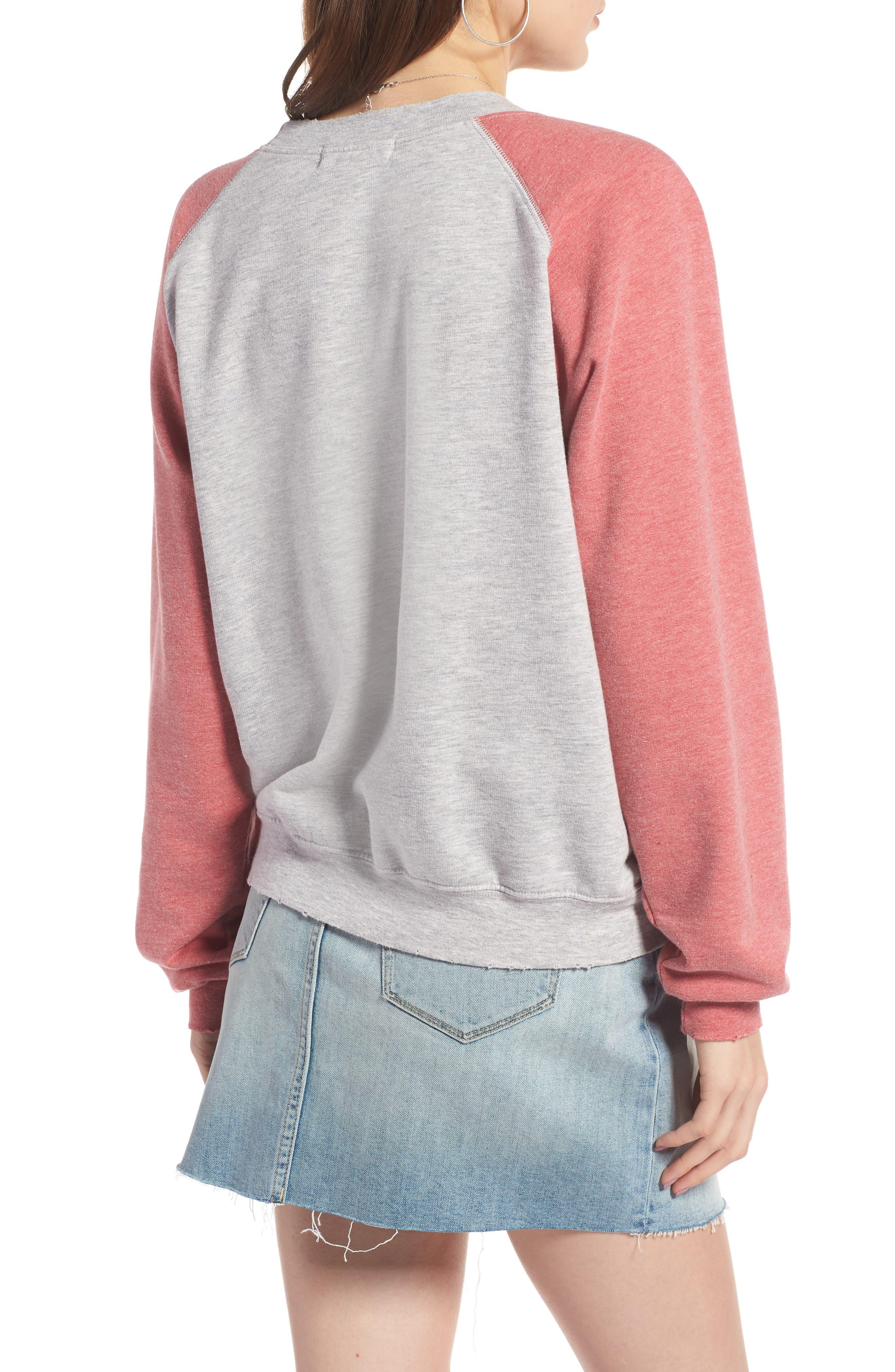 Raglan Sweatshirt,                             Alternate thumbnail 2, color,                             050