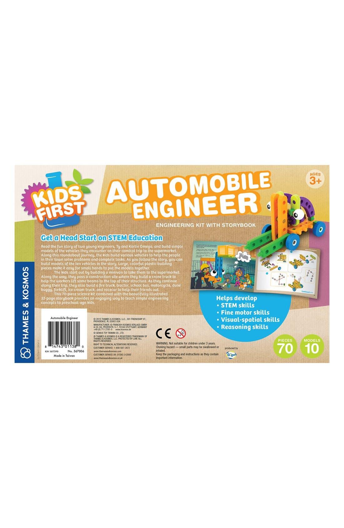 'Kids First - Automobile Engineer' Kit,                             Alternate thumbnail 2, color,                             ORANGE