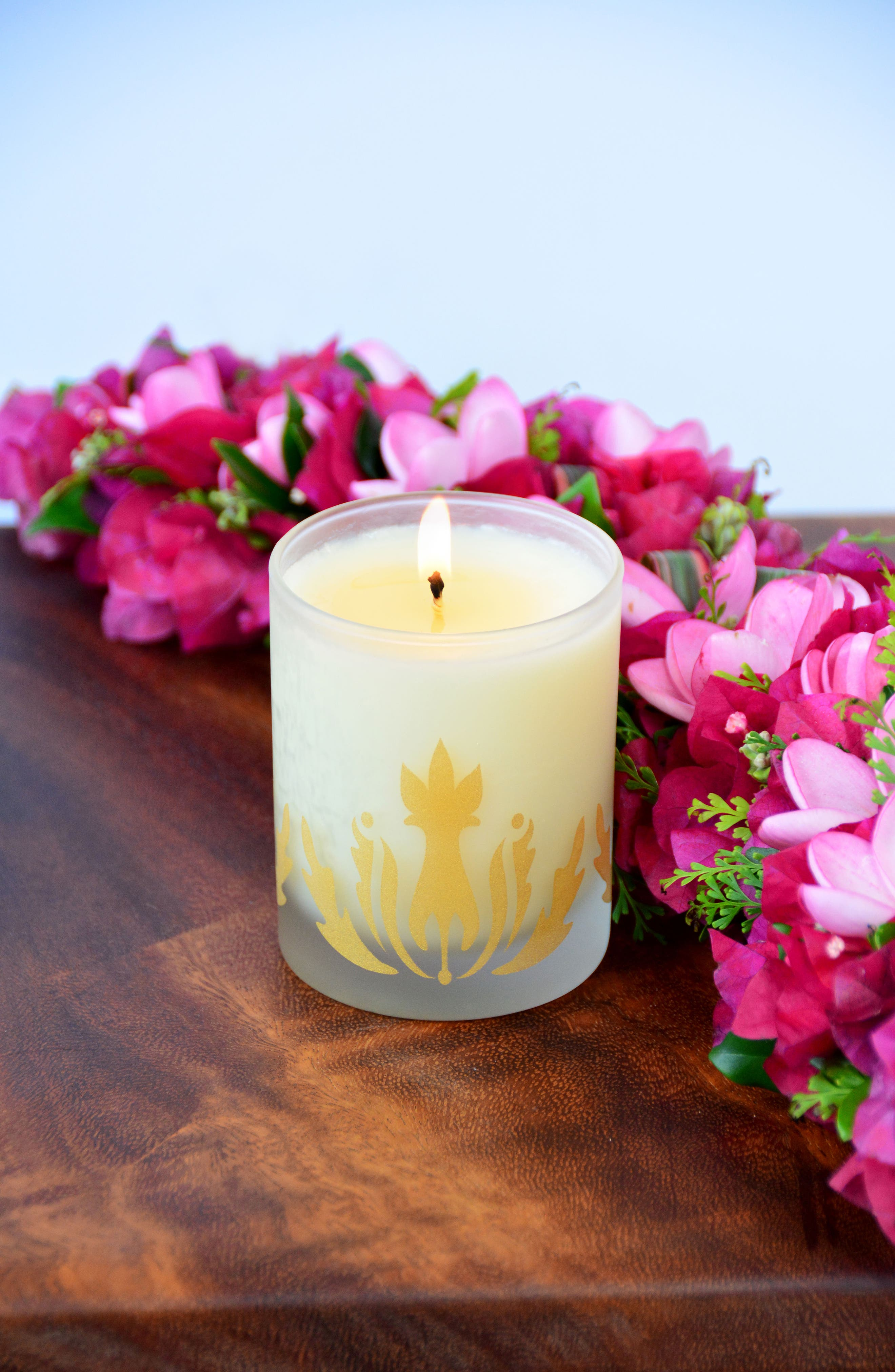 Soy Candle,                             Alternate thumbnail 3, color,                             PLUMERIA