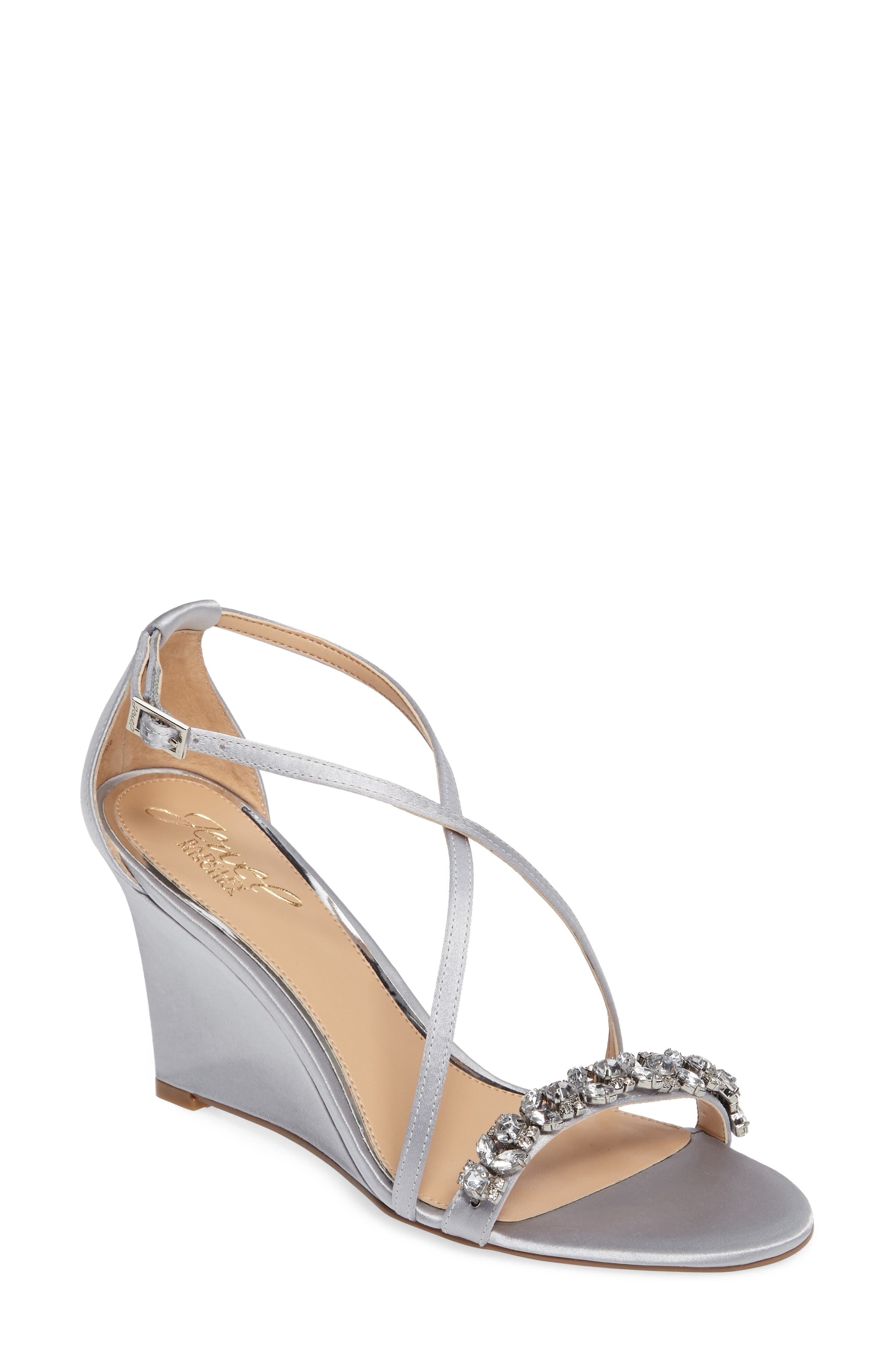 Embellished Strappy Wedge Sandal,                             Main thumbnail 2, color,