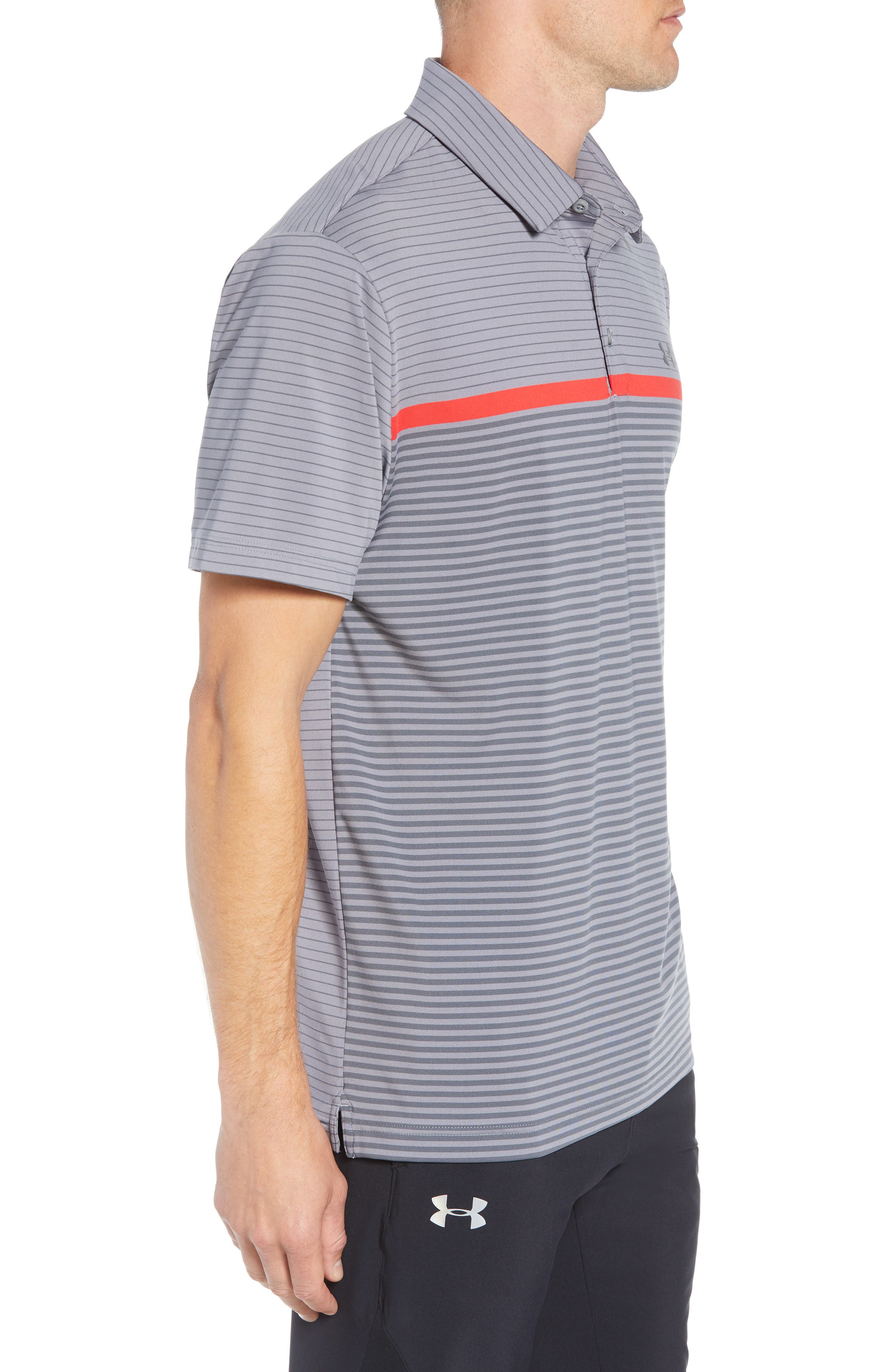 'Playoff' Loose Fit Short Sleeve Polo,                             Alternate thumbnail 3, color,                             020