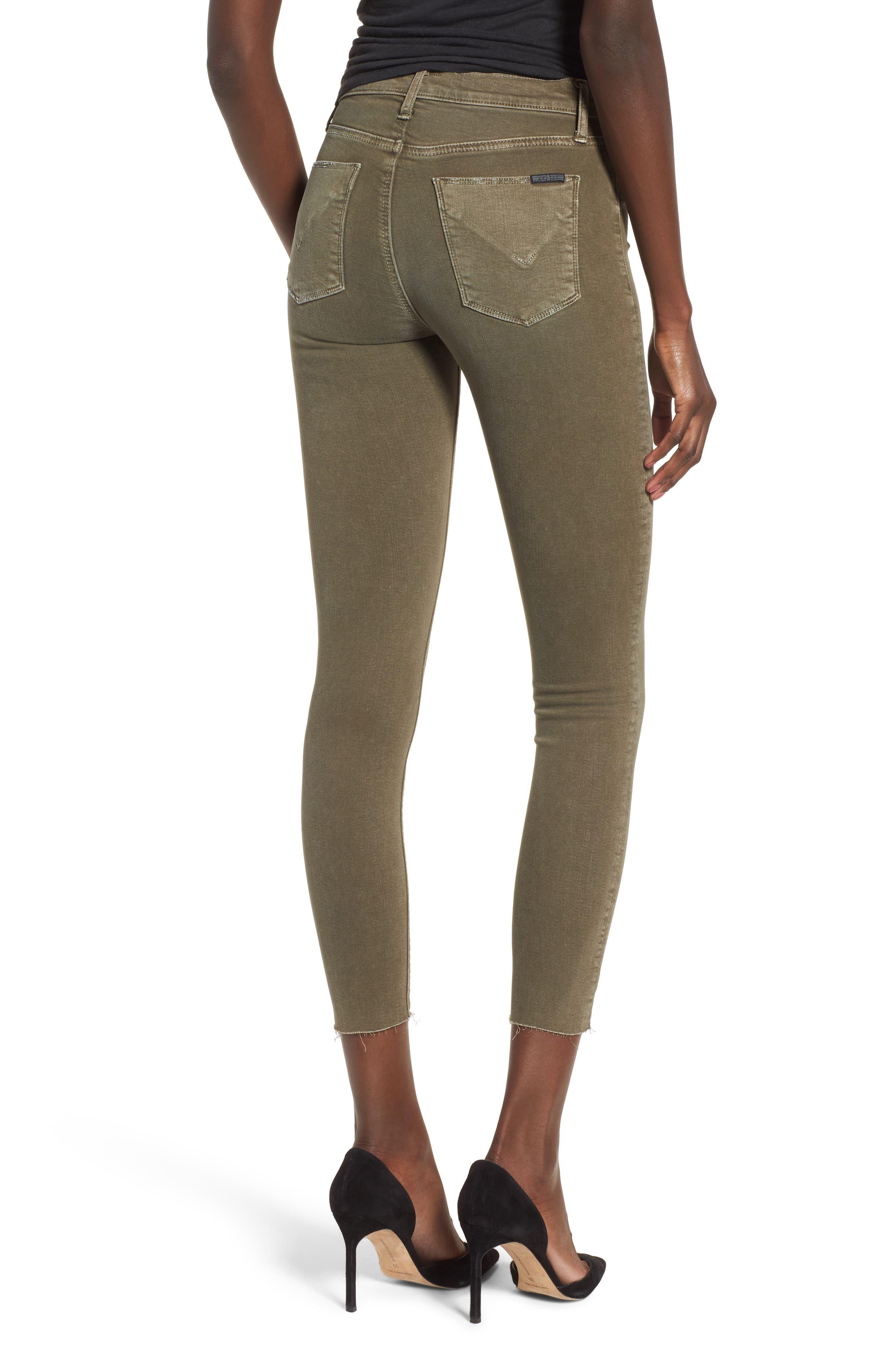 Barbara High Waist Ankle Skinny Jeans,                             Alternate thumbnail 8, color,