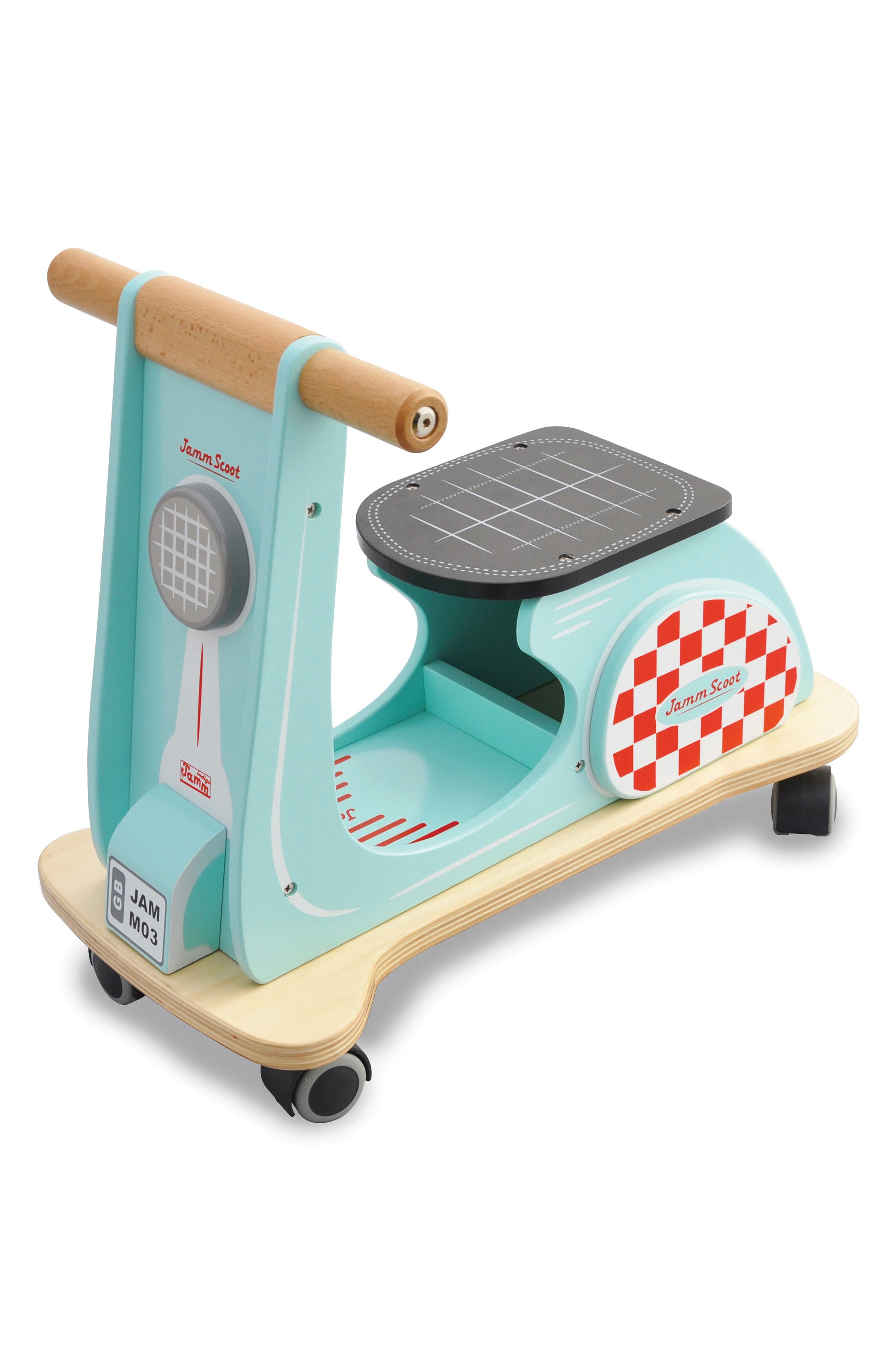 Wood Scooter,                         Main,                         color, 400