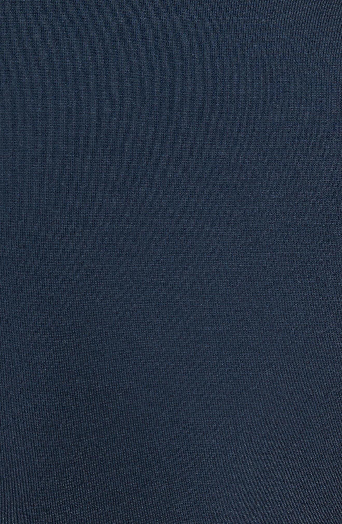Papron Tie Front Dress,                             Alternate thumbnail 5, color,                             410