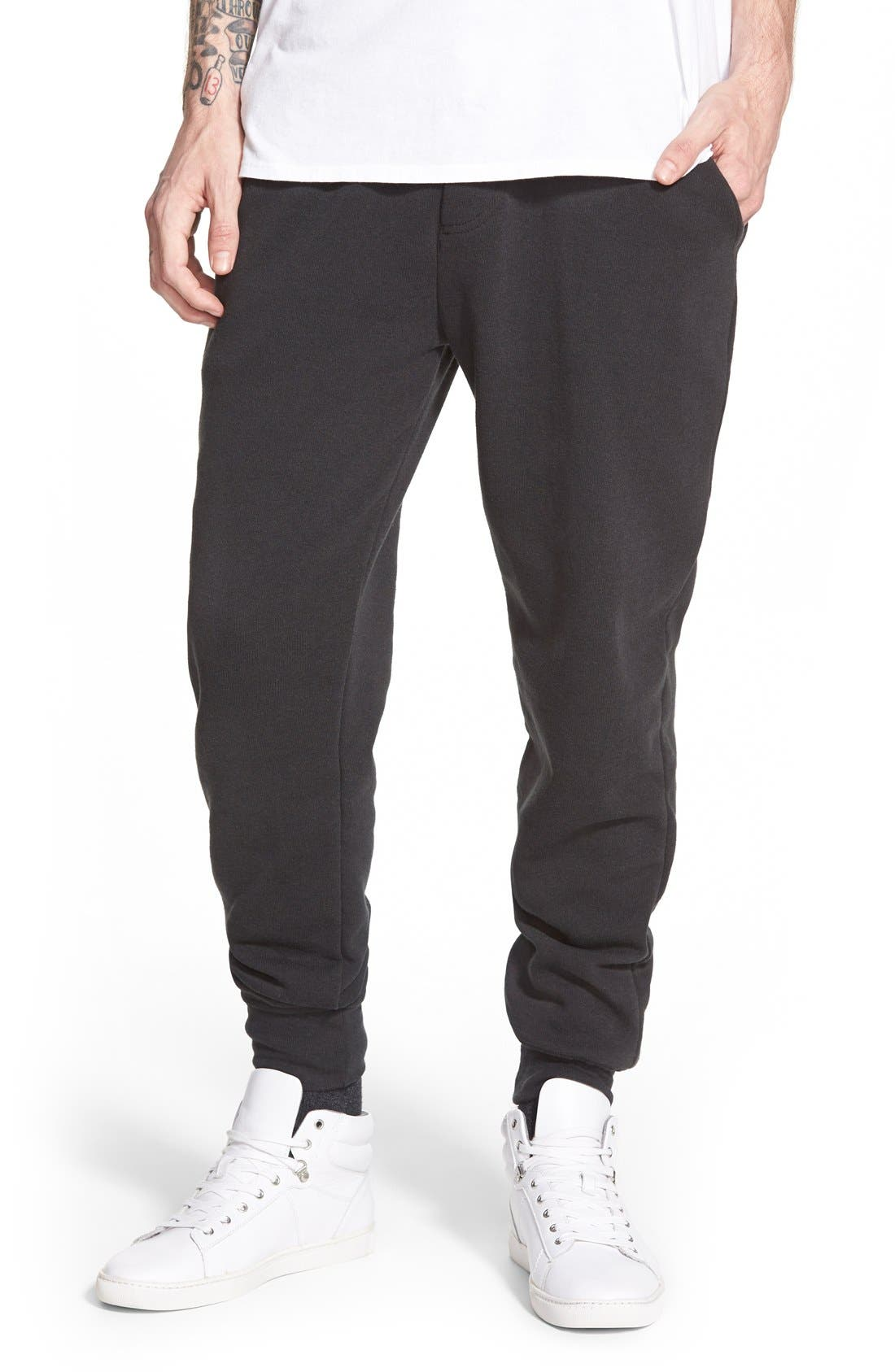 'Dodgeball' Eco Fleece Sweatpants,                             Main thumbnail 1, color,