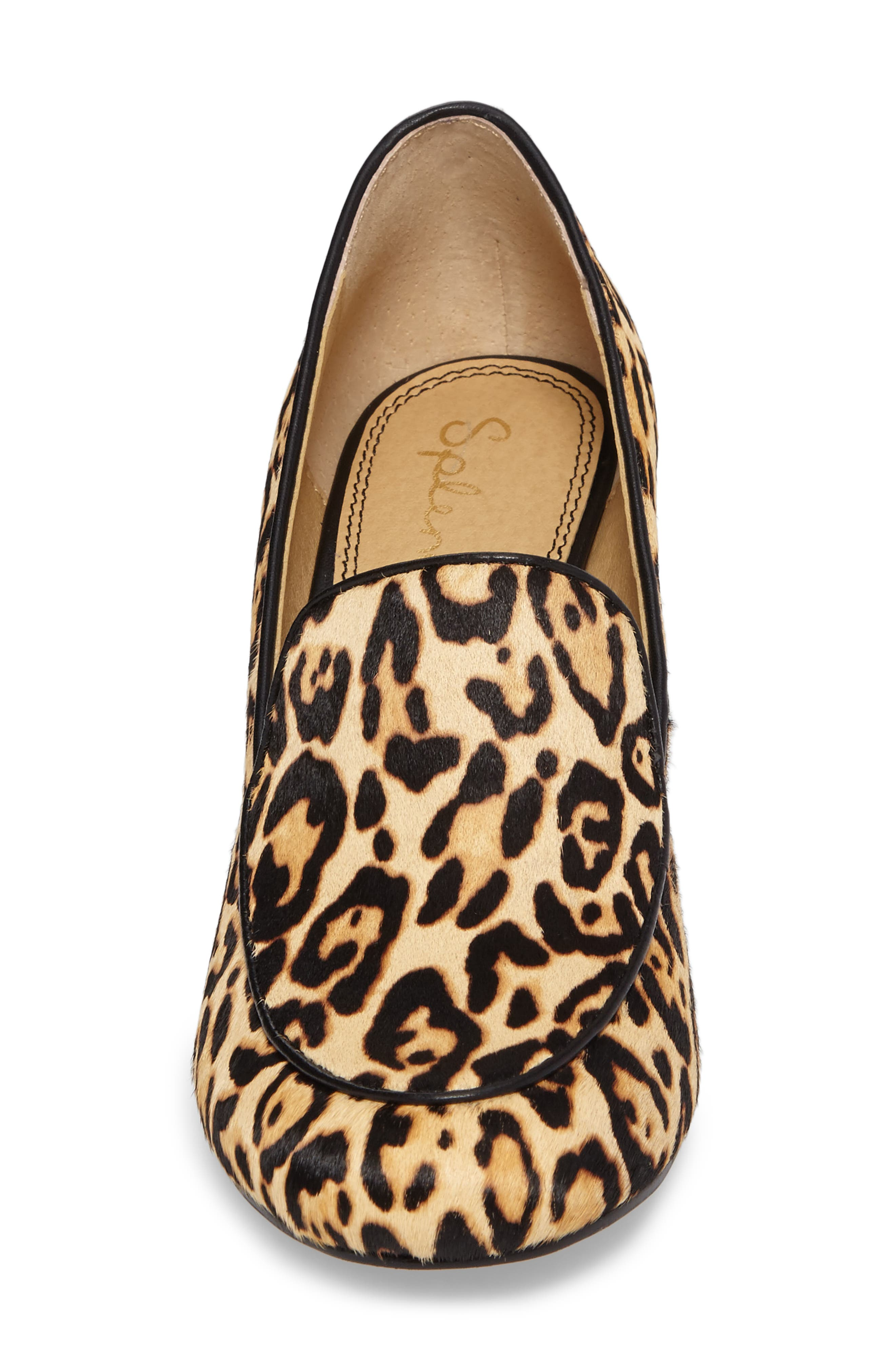 Rosita III Genuine Calf Hair Loafer Pump,                             Alternate thumbnail 4, color,                             200