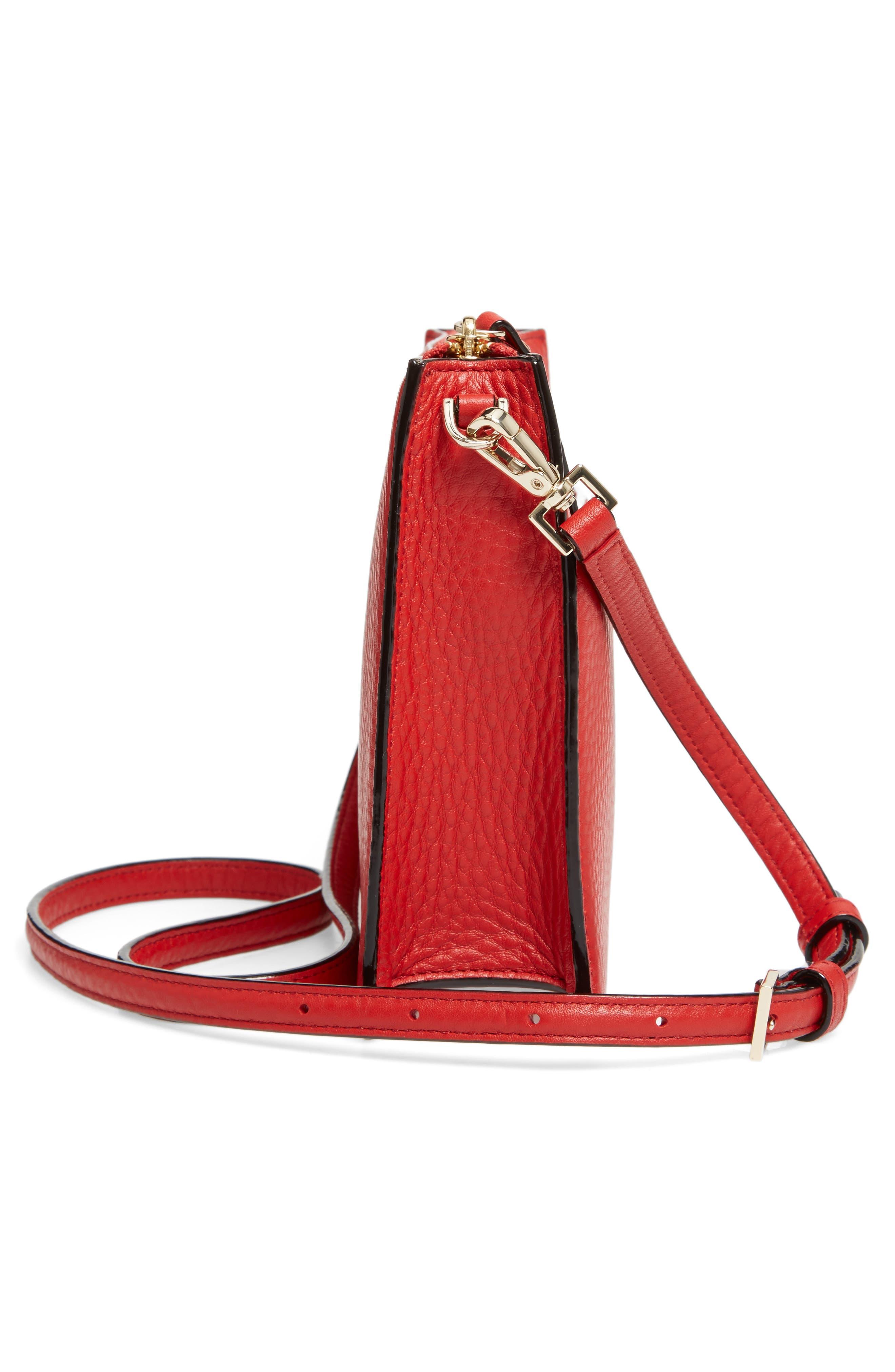 steward street clarise leather shoulder bag,                             Alternate thumbnail 15, color,