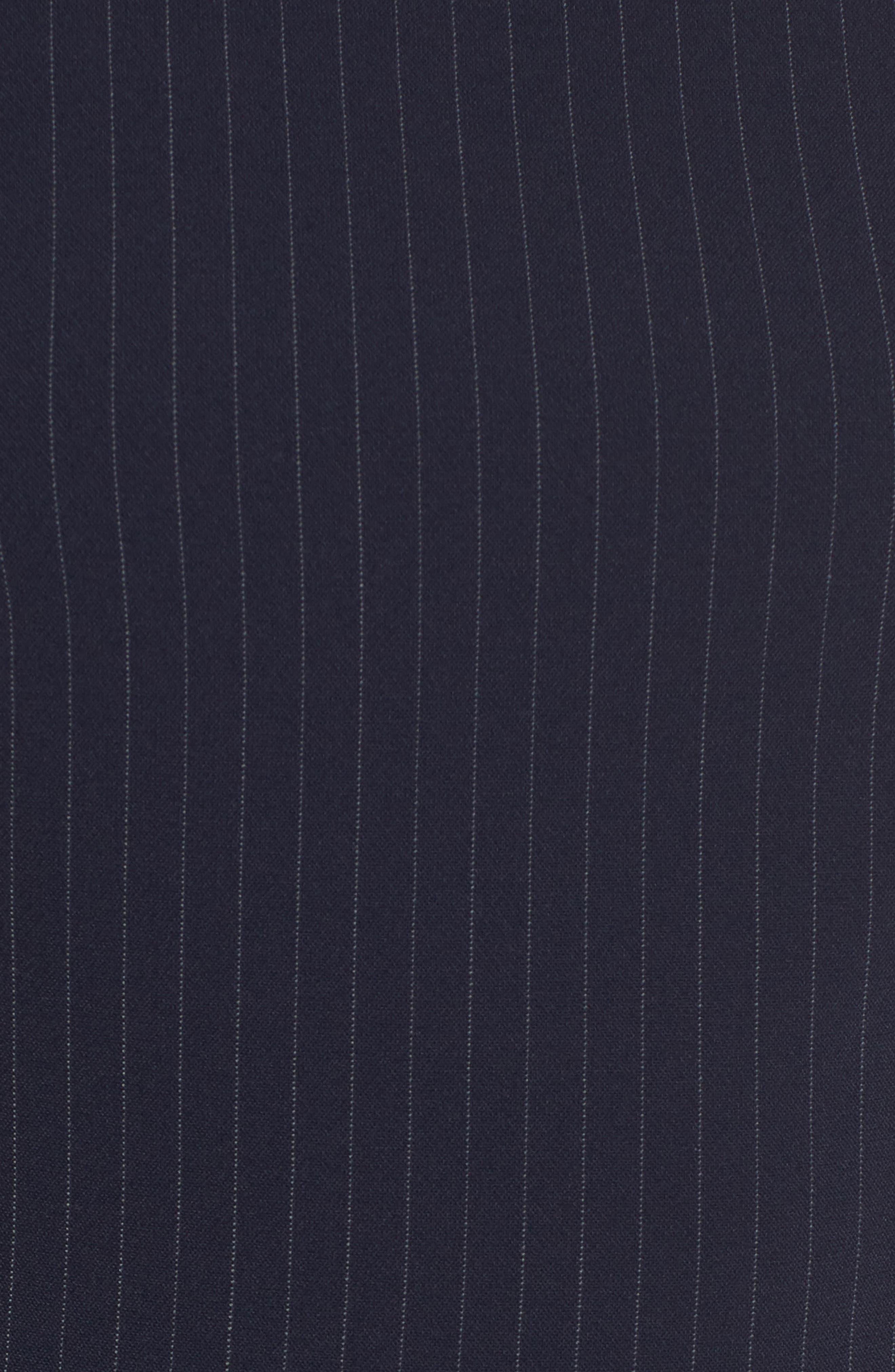 Denaka Pinstripe Sheath Dress,                             Alternate thumbnail 5, color,