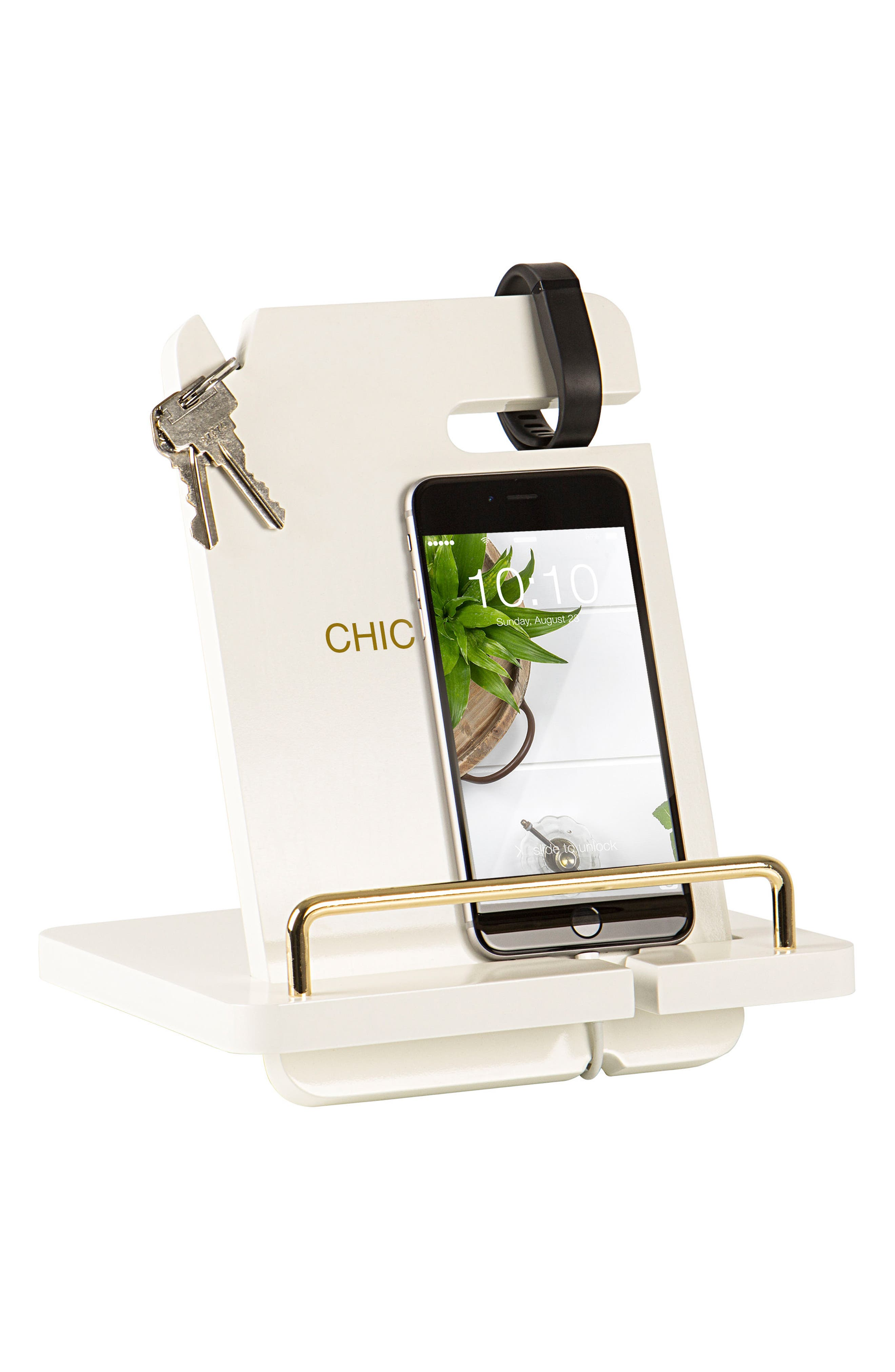 Lacquer Docking Station,                             Alternate thumbnail 3, color,                             GOLD