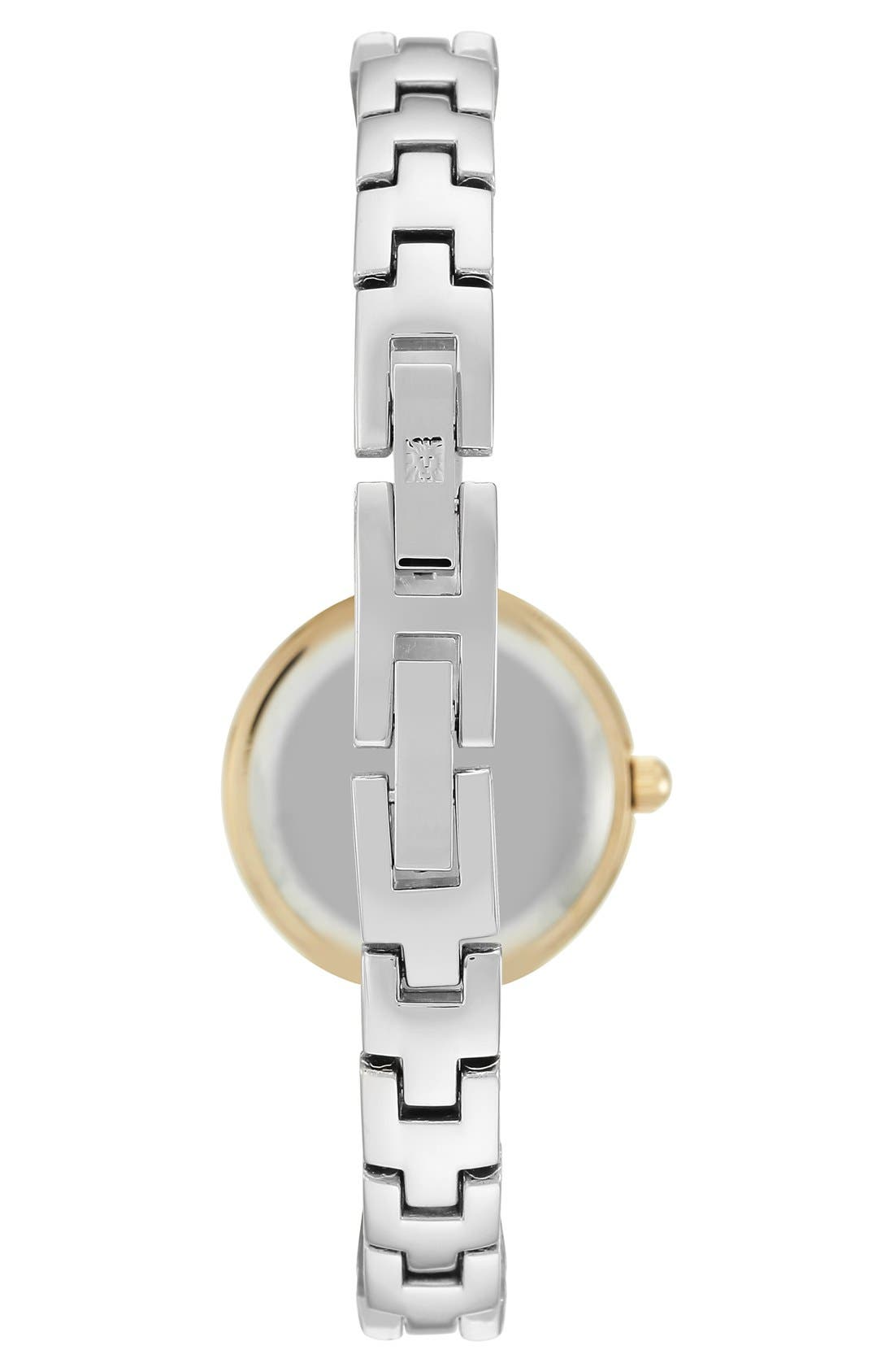 Diamond Dial Bangle Watch, 24mm,                             Alternate thumbnail 5, color,