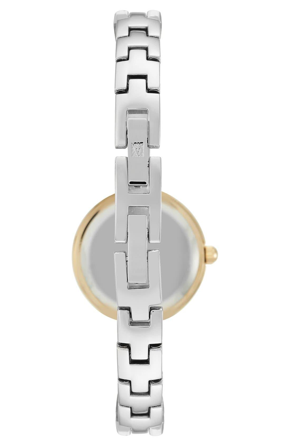 Diamond Dial Bangle Watch, 24mm,                             Alternate thumbnail 3, color,                             040