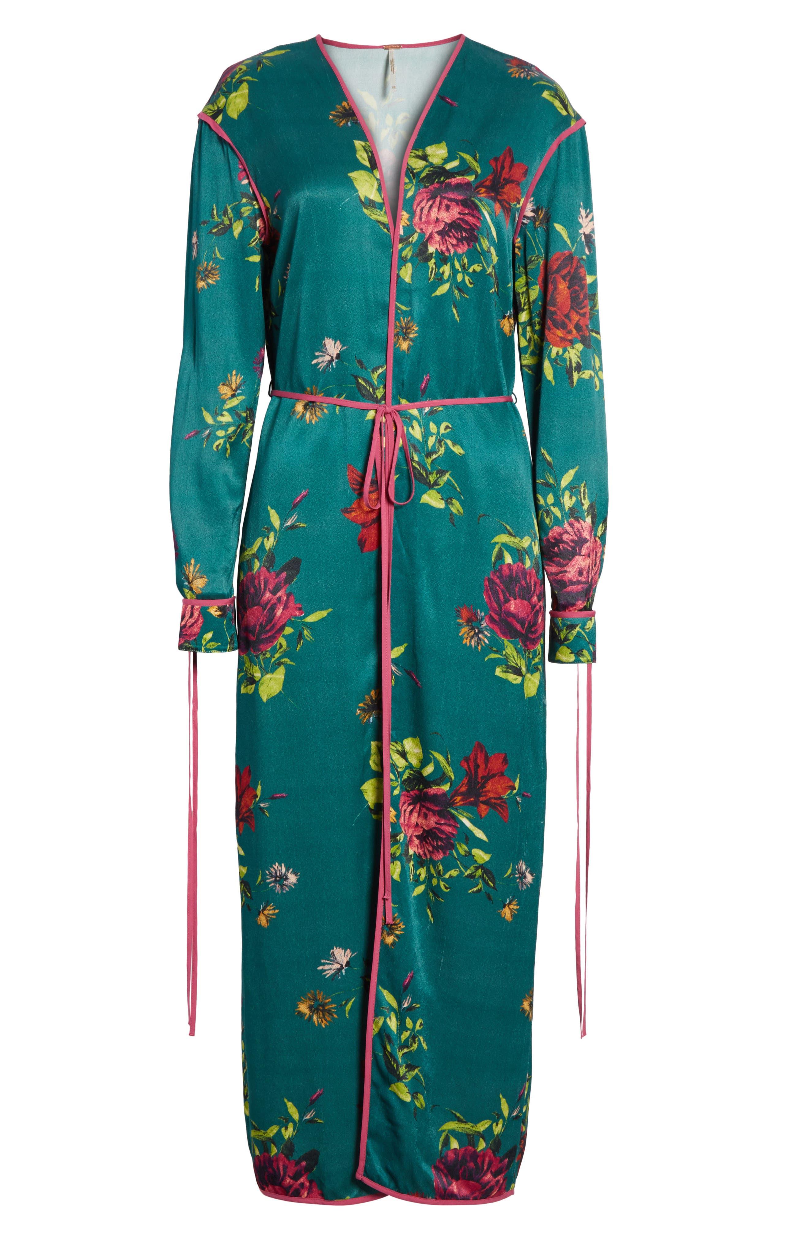 Kimono Duster,                             Alternate thumbnail 5, color,