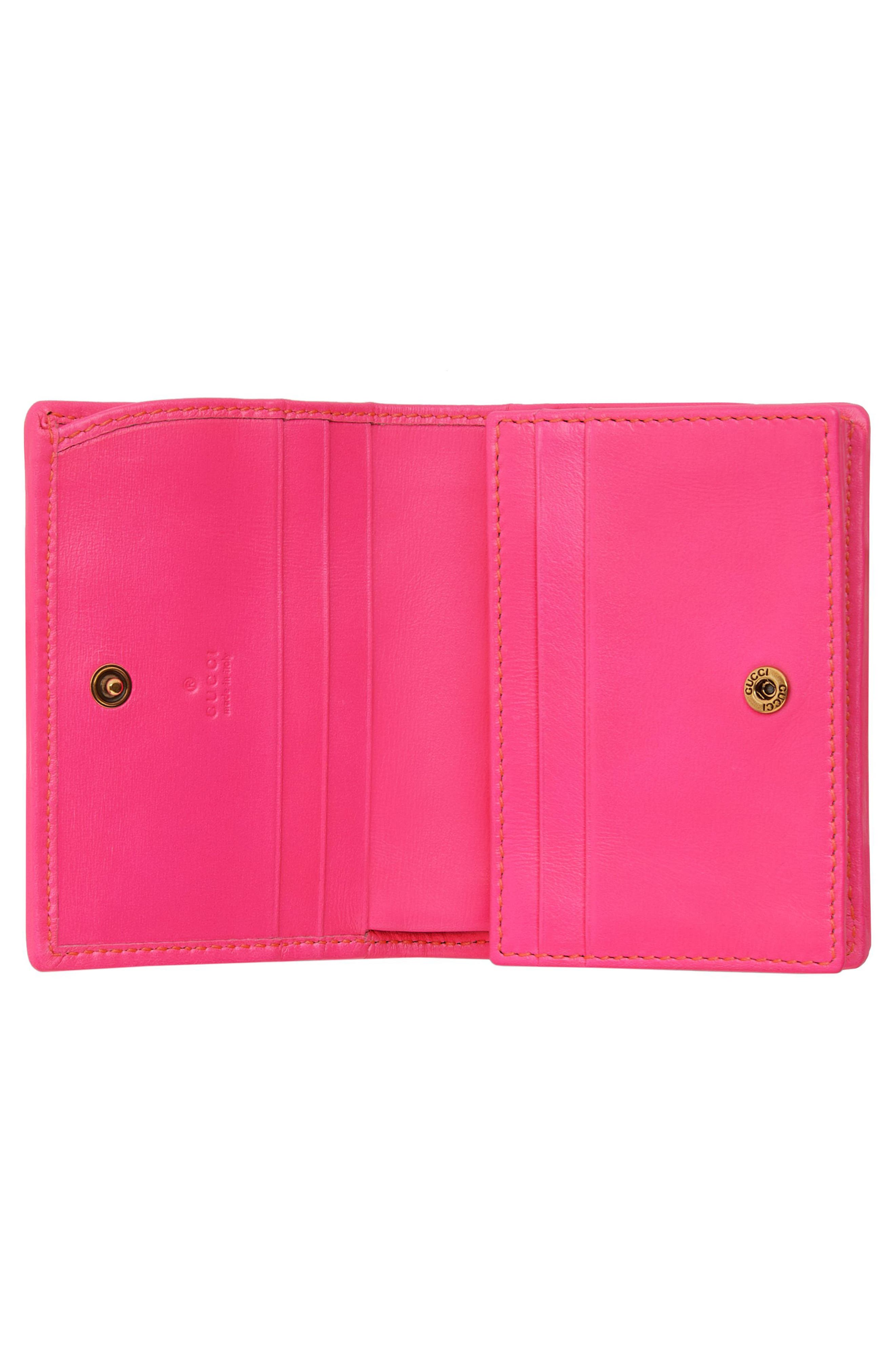 Quilted Leather Card Case,                             Alternate thumbnail 2, color,                             670
