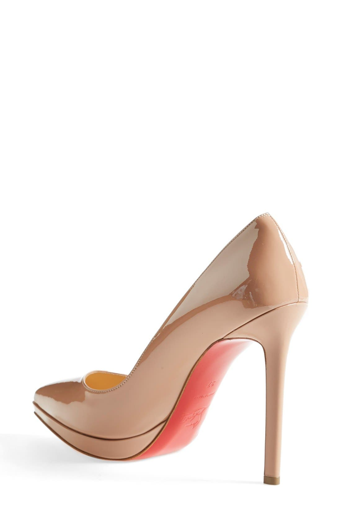 'Pigalle Plato' Pointy Toe Pump,                             Alternate thumbnail 6, color,