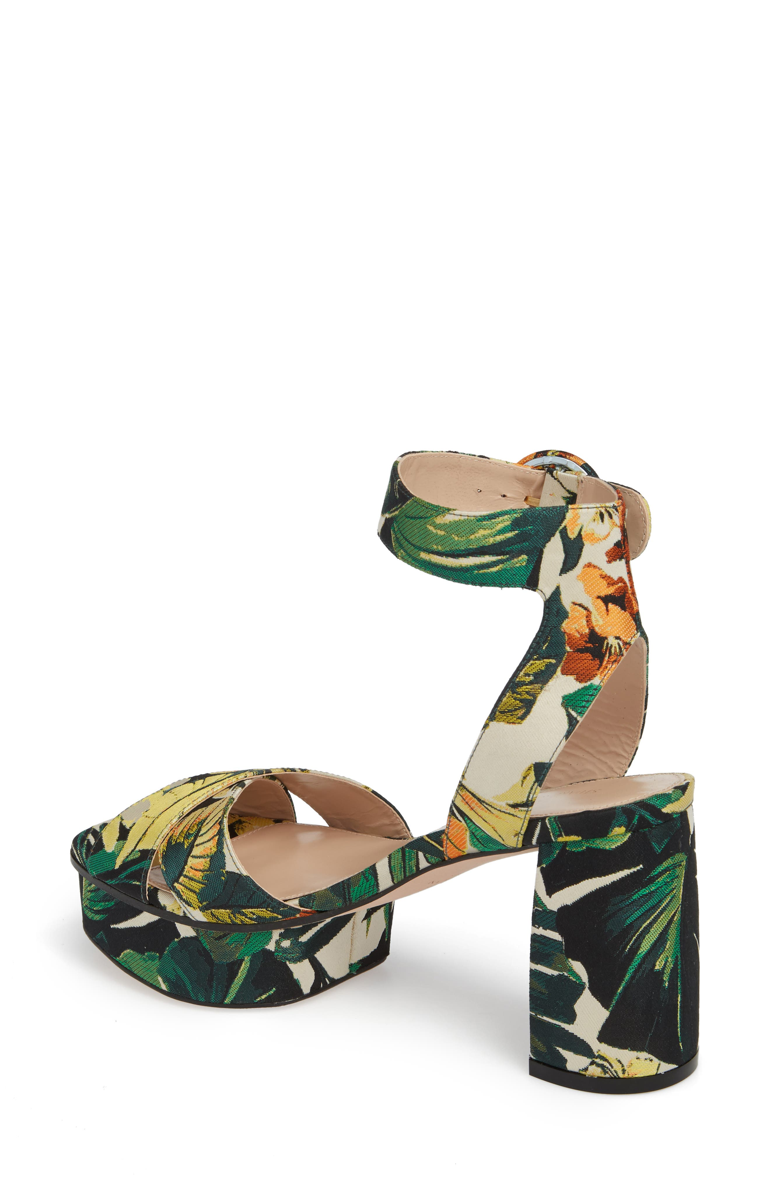 Carmina Ankle Strap Platform Sandal,                             Alternate thumbnail 8, color,