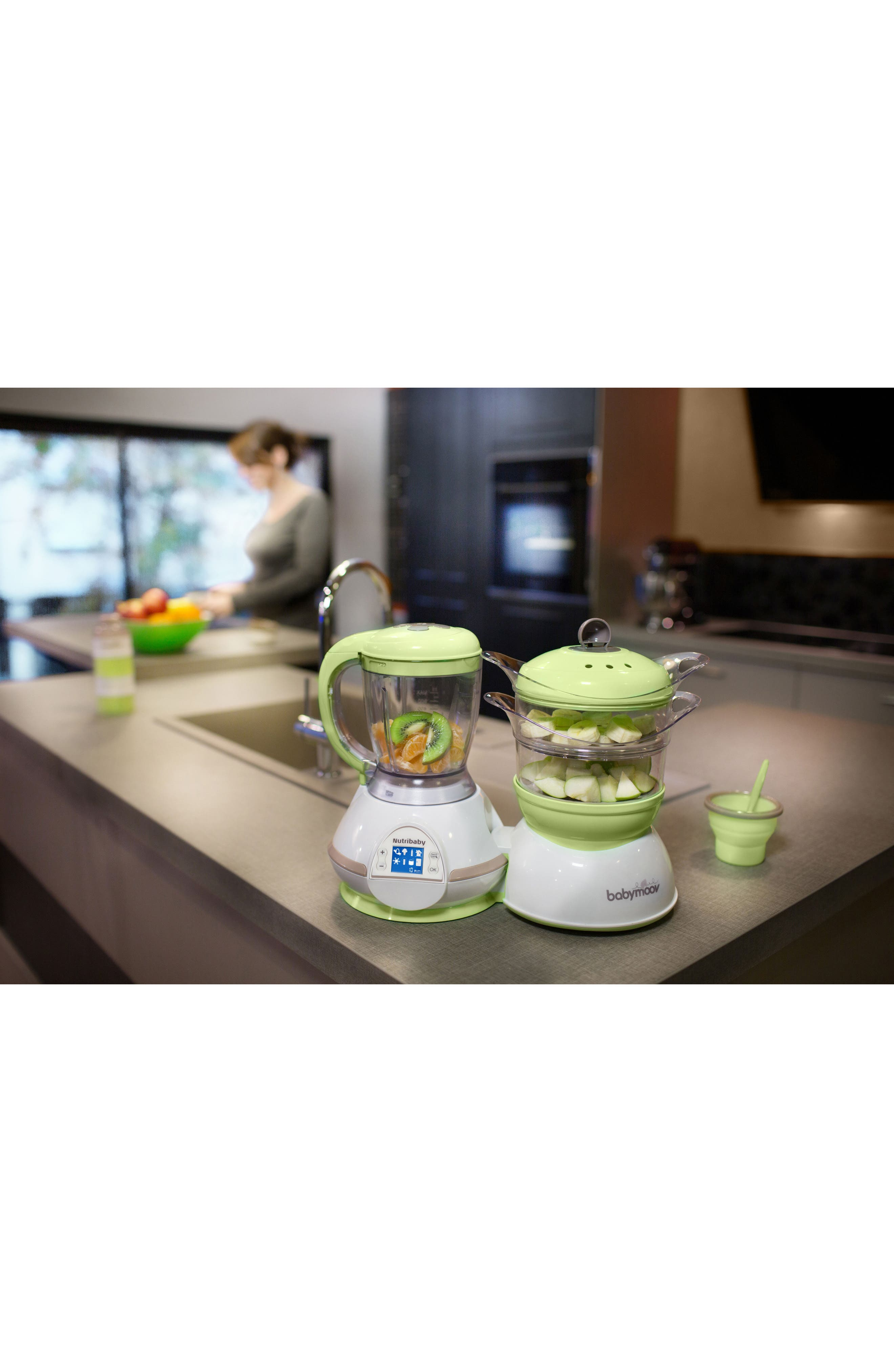 Nutribaby 5-In-1 Baby Food Maker,                             Alternate thumbnail 2, color,                             ZEN